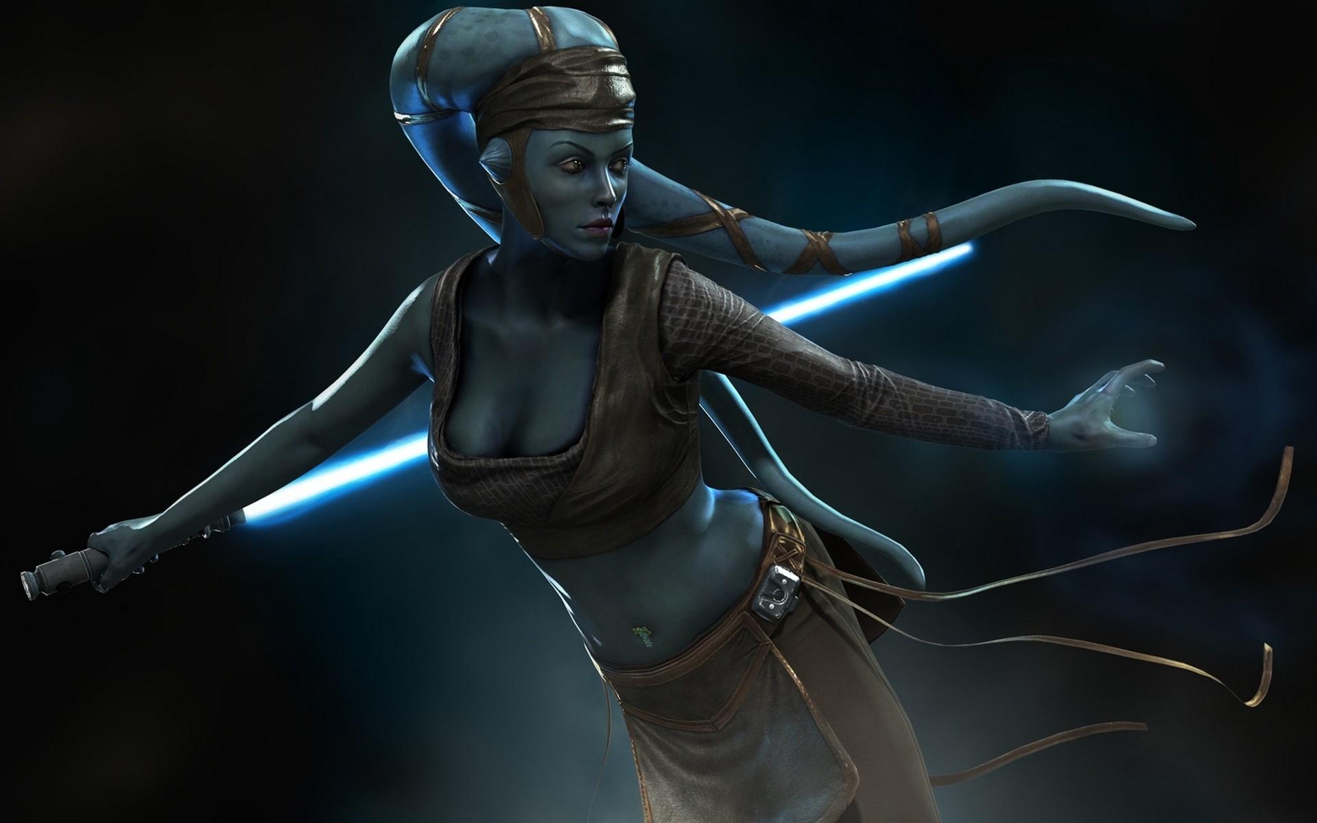 Star Wars Warriors Aliens Games 3D Graphics Fantasy warrior sci-fi .