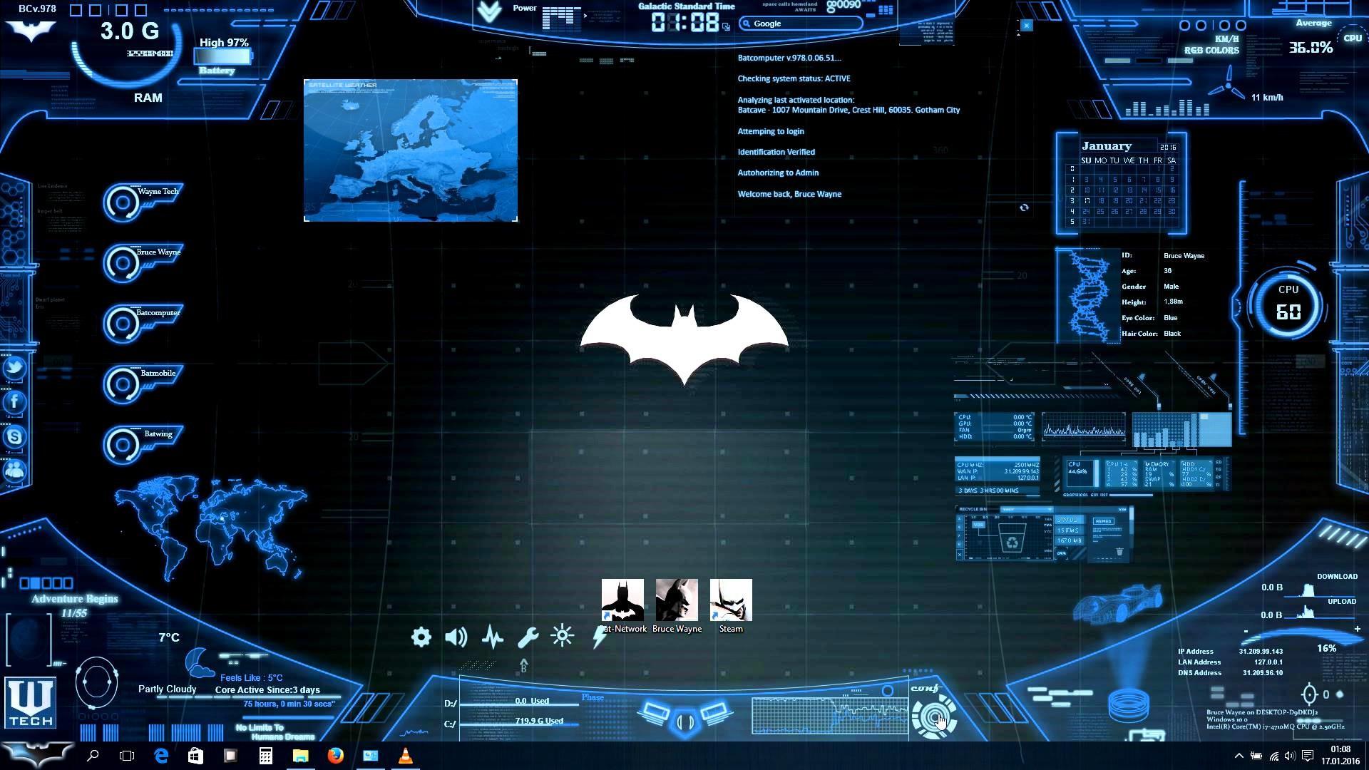 Real life Batcomputer