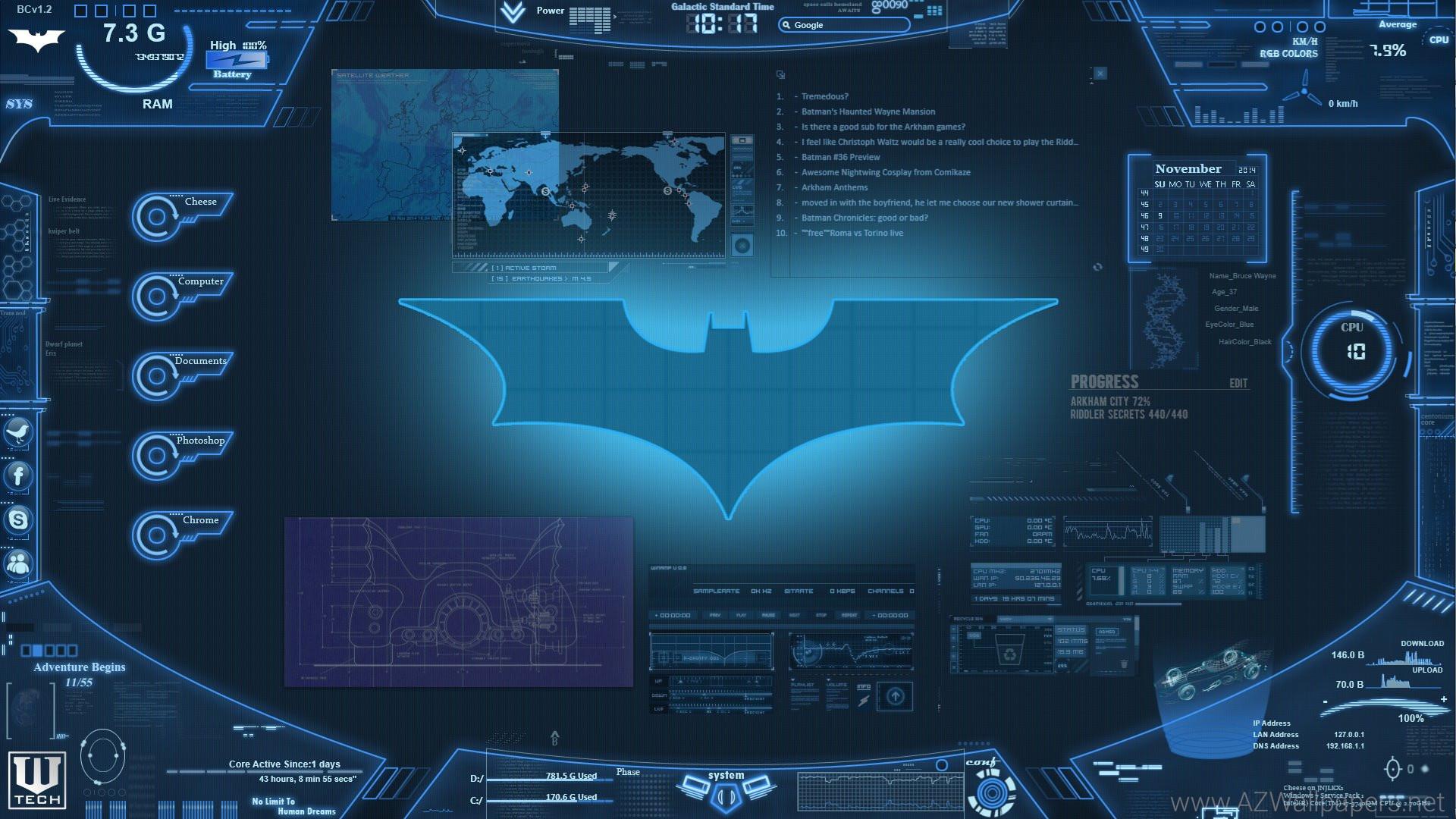 Download Wallpapers Desktop Computer Batcomputer WIP Imgur