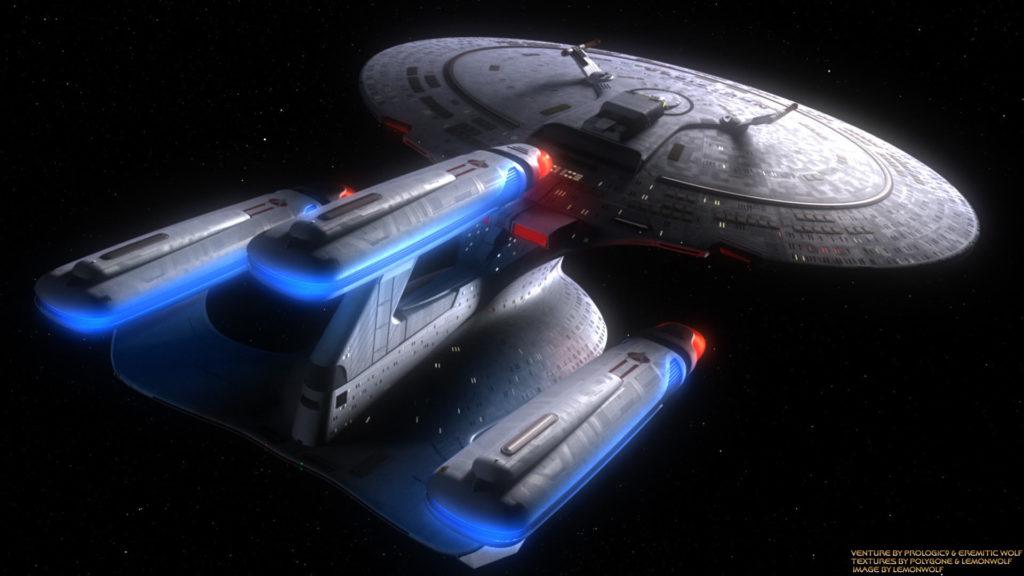 Star Trek Galaxy Class Dread Nought Wallpaper Wallpaper
