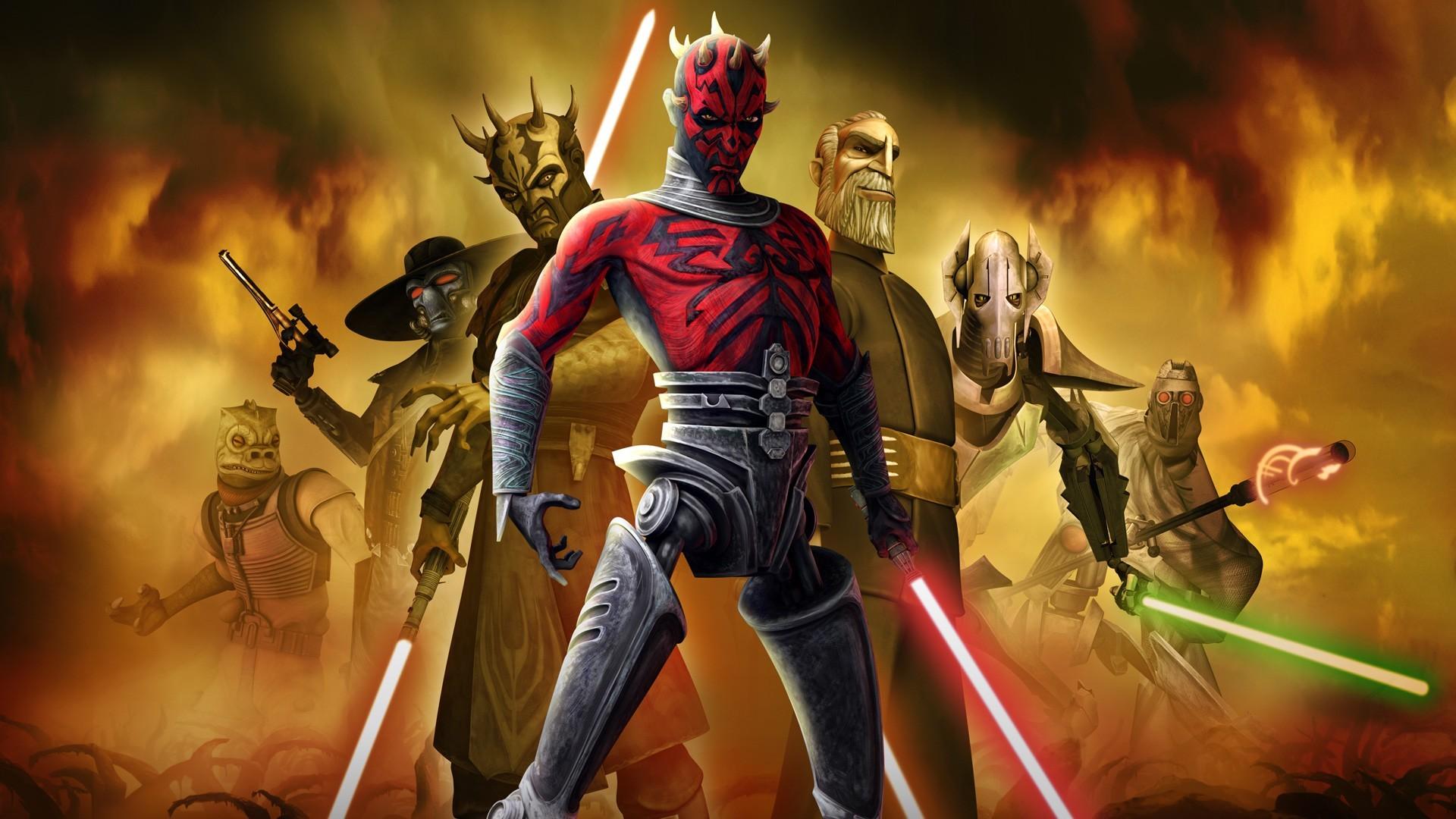 General Grievous · TV Show – Star Wars: The Clone Wars Darth Maul Bossk  (Star Wars)