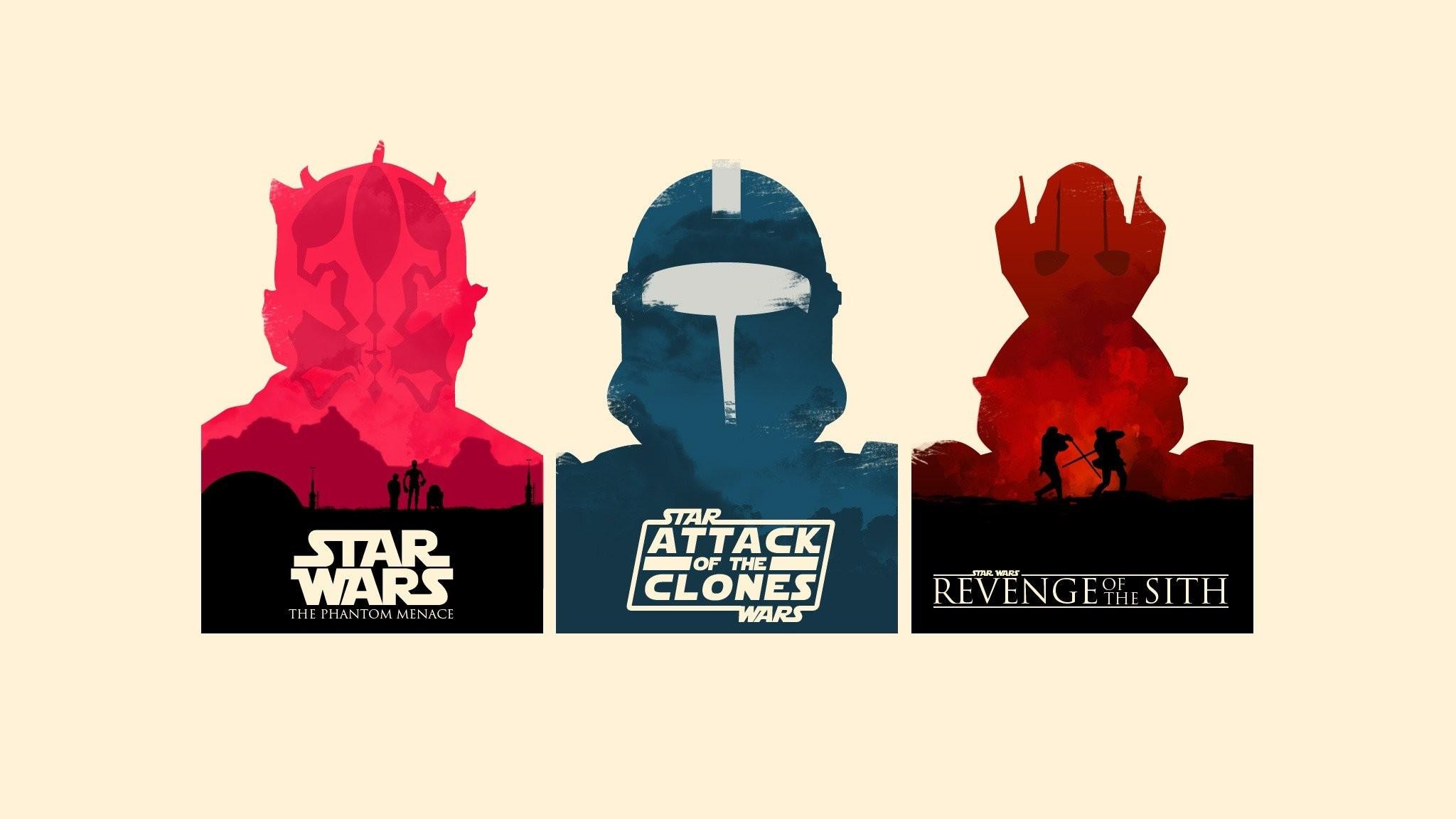 Anakin Skywalker C3PO Darth Maul General Grievous Minimalistic Movies  Obi-Wan Kenobi Posters R2D2 Star Wars
