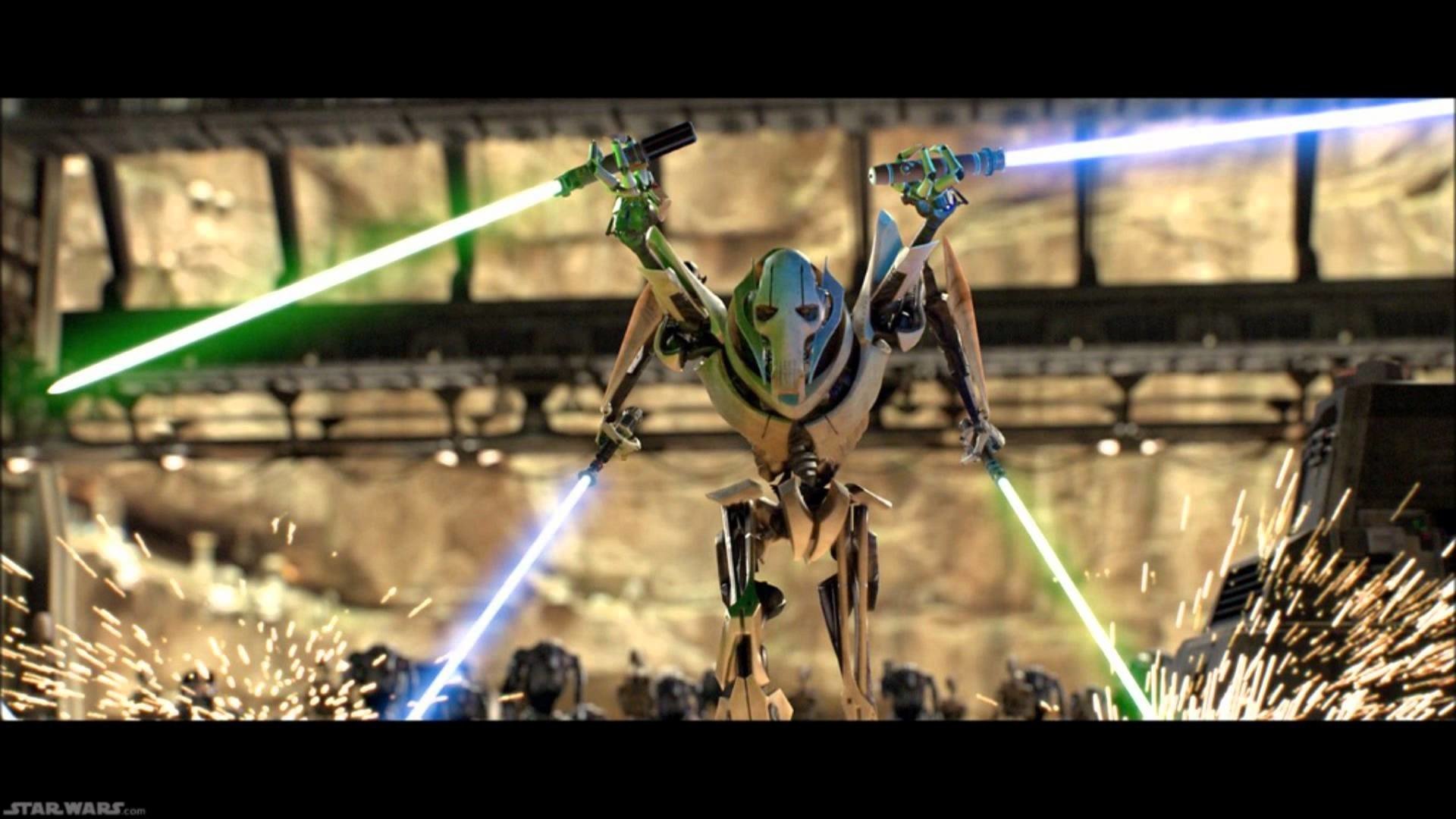 General Grievous star wars tune revenge of the sith