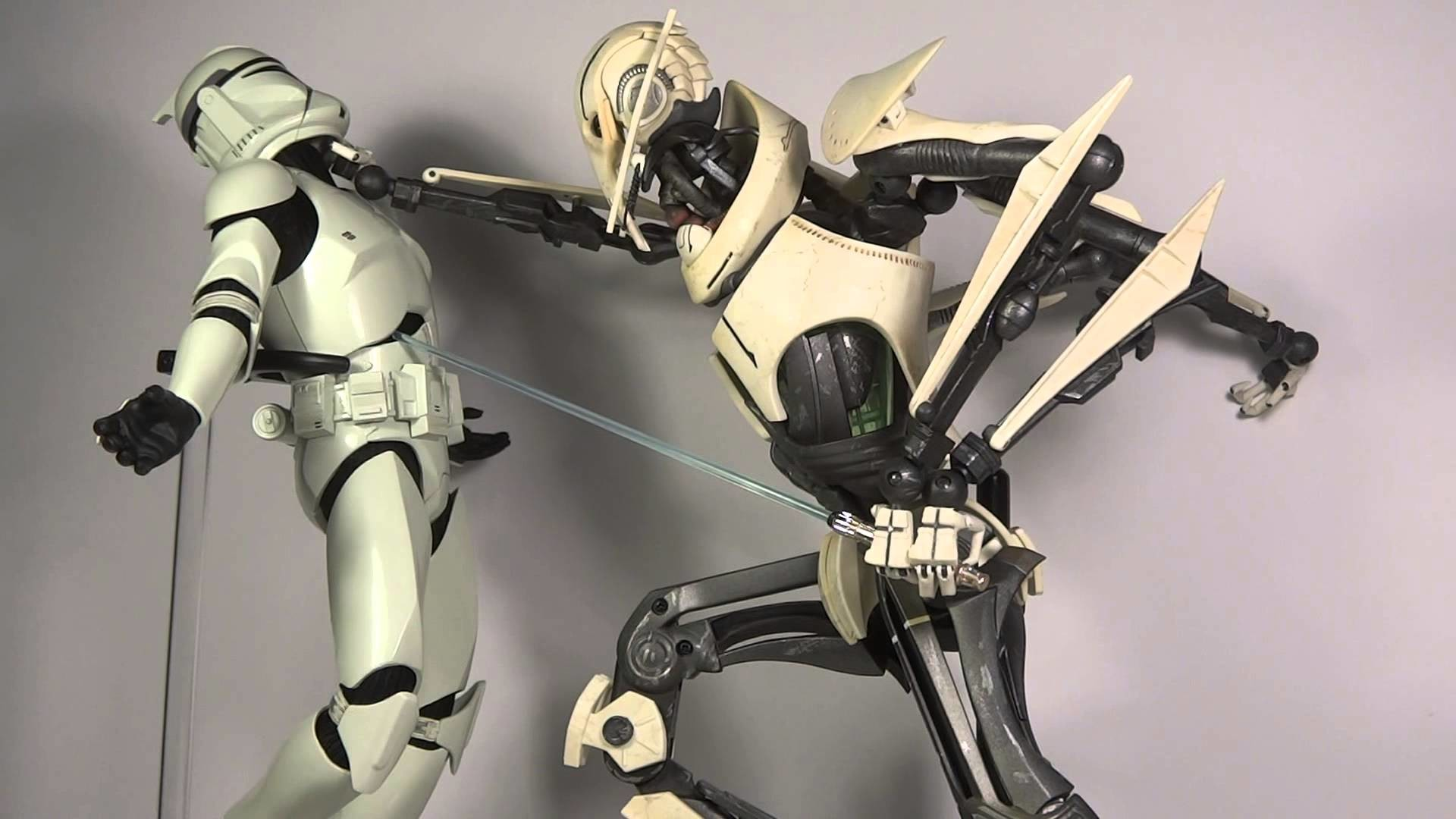 """113th Toy Pose Review Sideshow Collectibles """"General Grievous Rampage!"""""""
