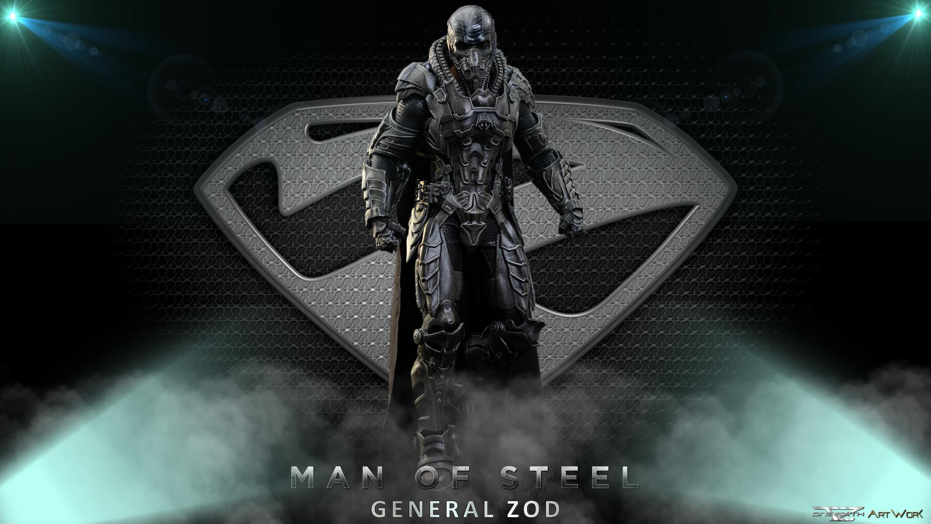 ArtWork: Man Of Steel General Zod – Hot Toys – Full HD .