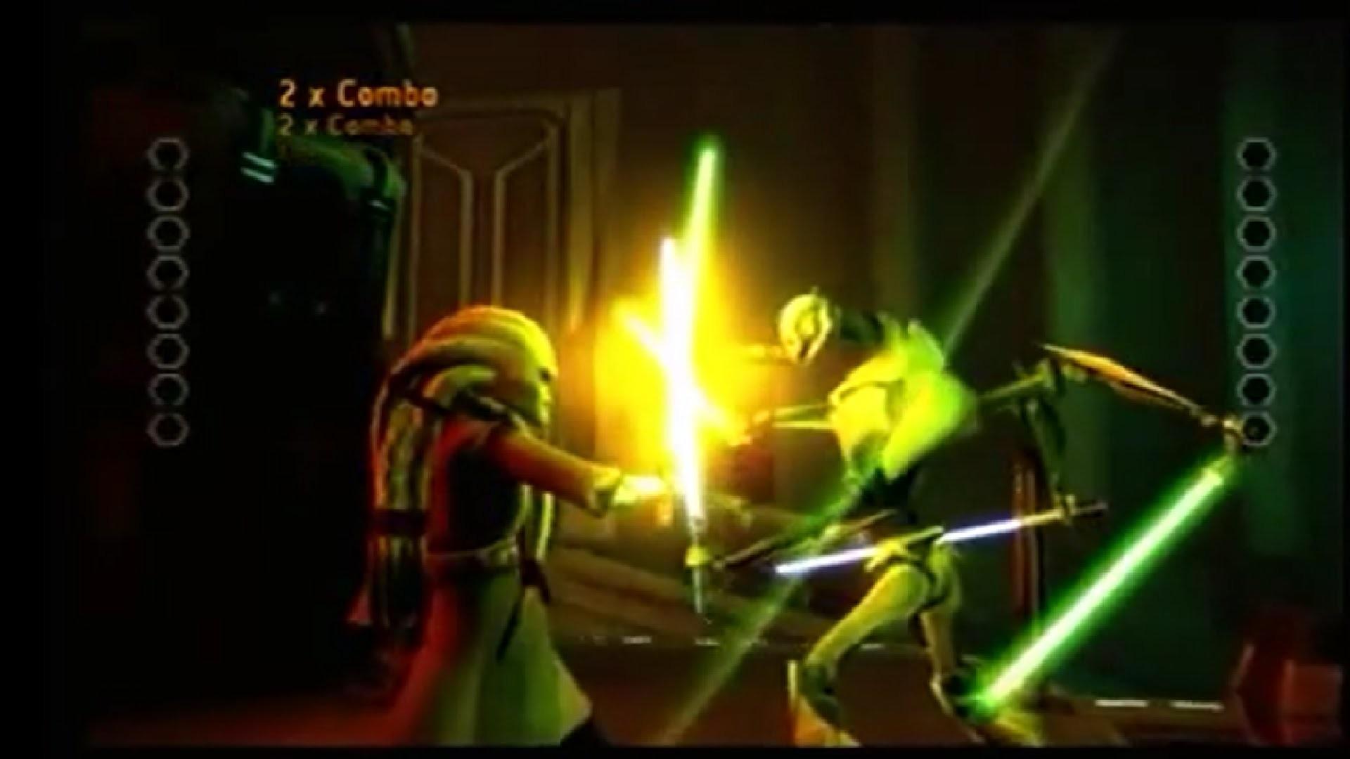 Star Wars Kit Fisto vs General Grievous