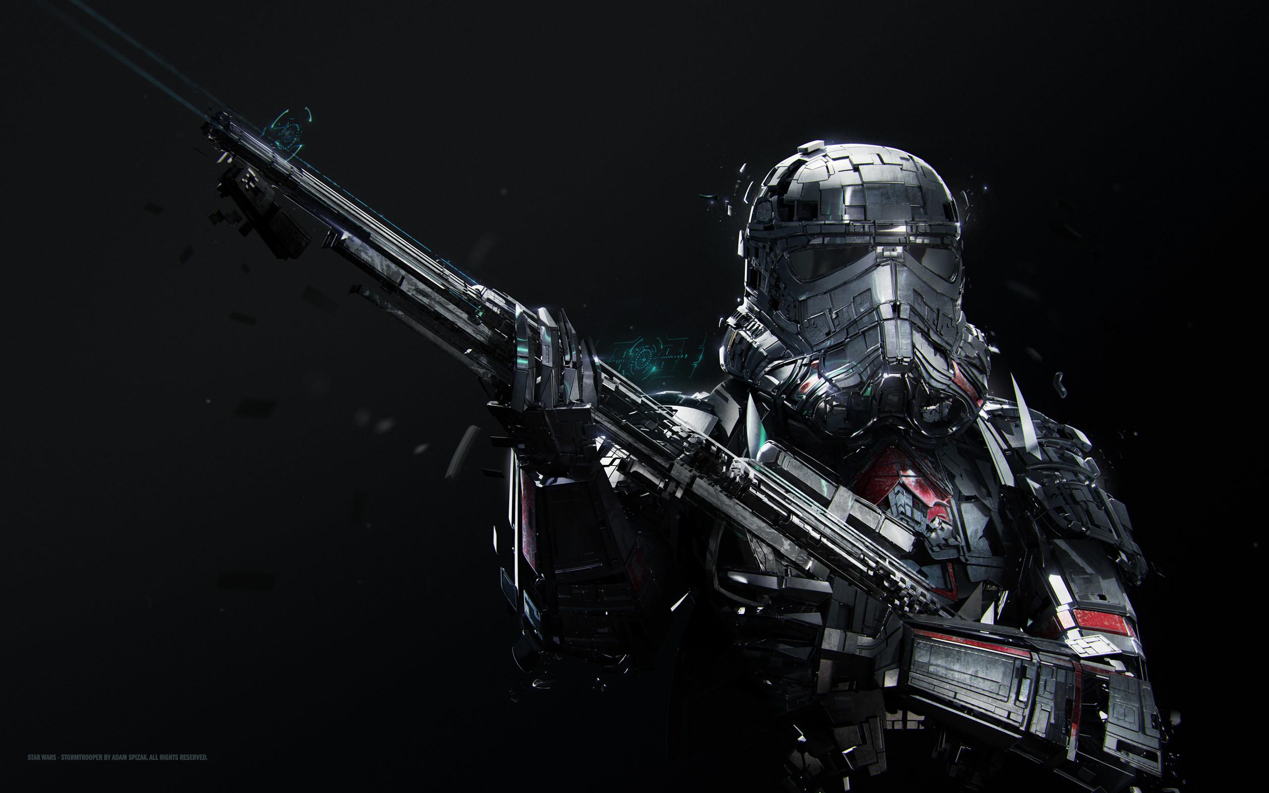 Star Wars Stormtrooper 1366×768 Resolution