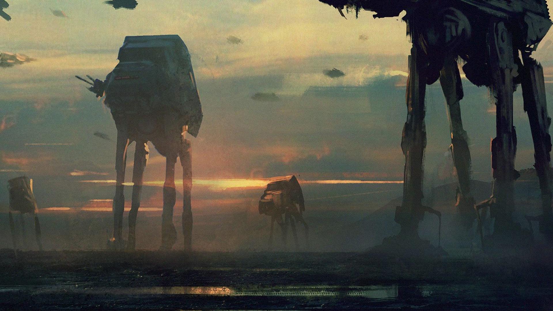 Star Wars AT-AT Walker Wallpapers