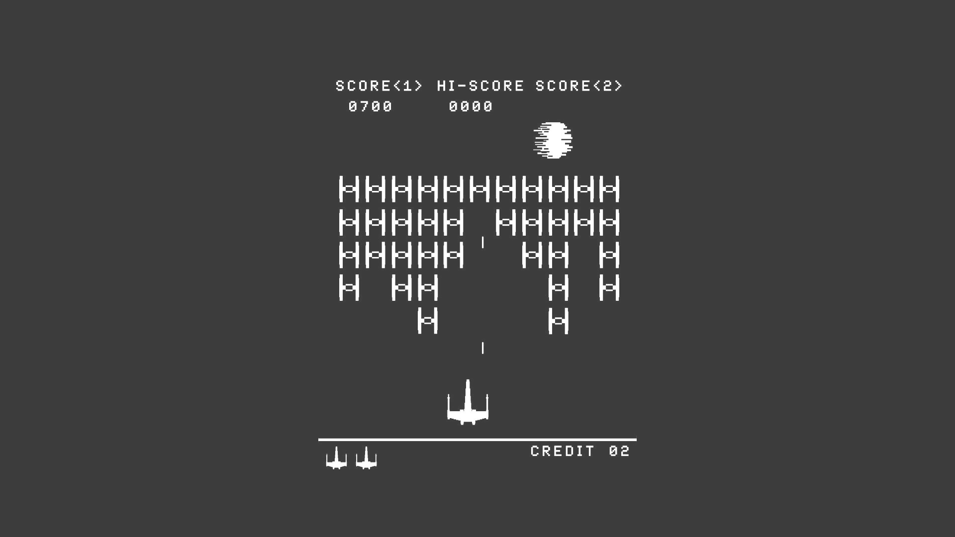 Star Wars Game Minimalism 1366×768 Resolution