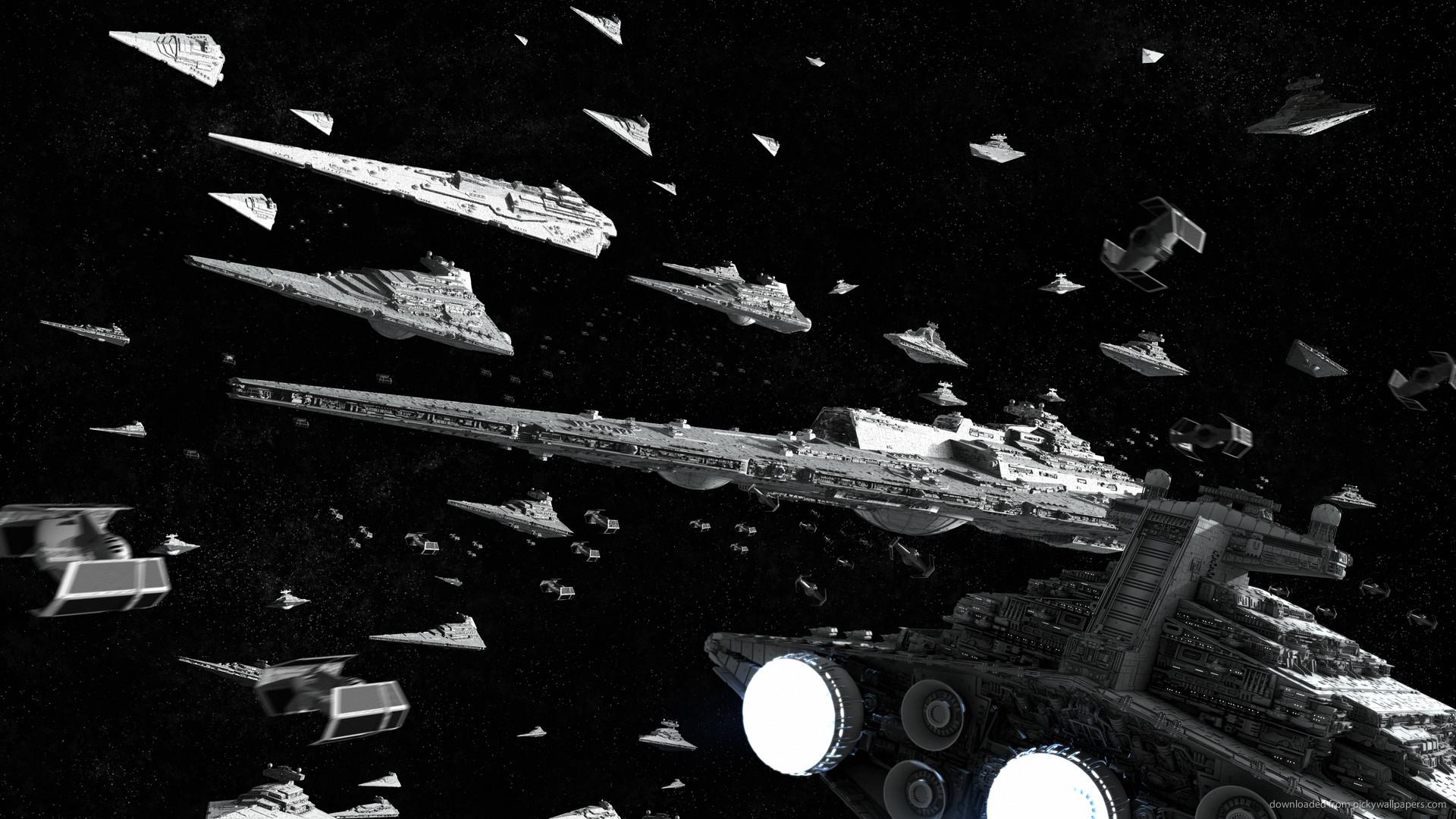 1366×768 Star Wars Imperial Fleet wallpaper