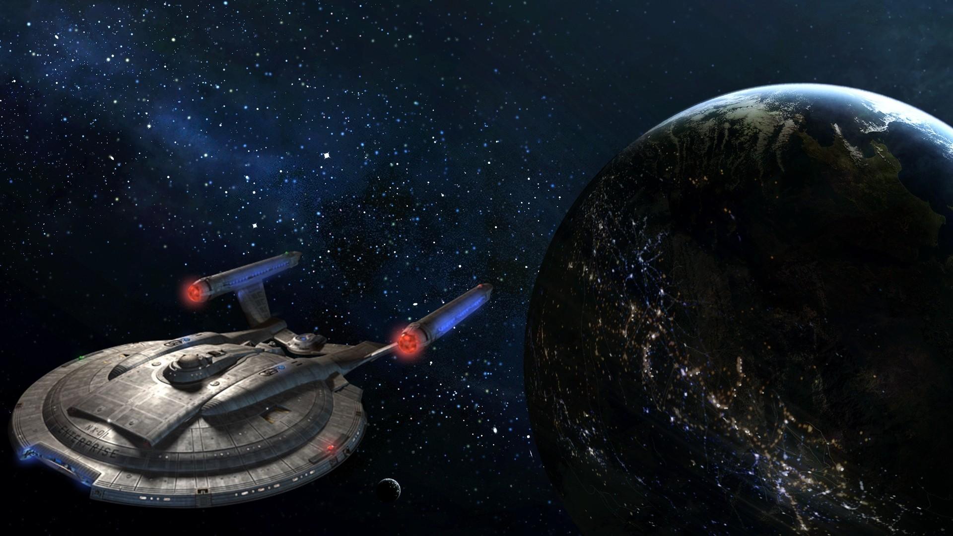 Star Trek: Enterprise Full HD Wallpaper