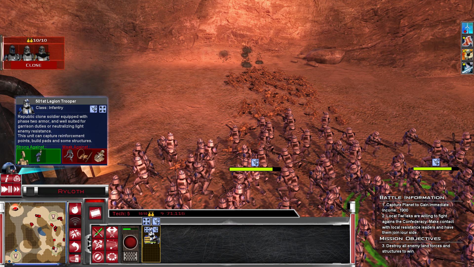 Add media Report RSS more clone trooper legions etc (view original)