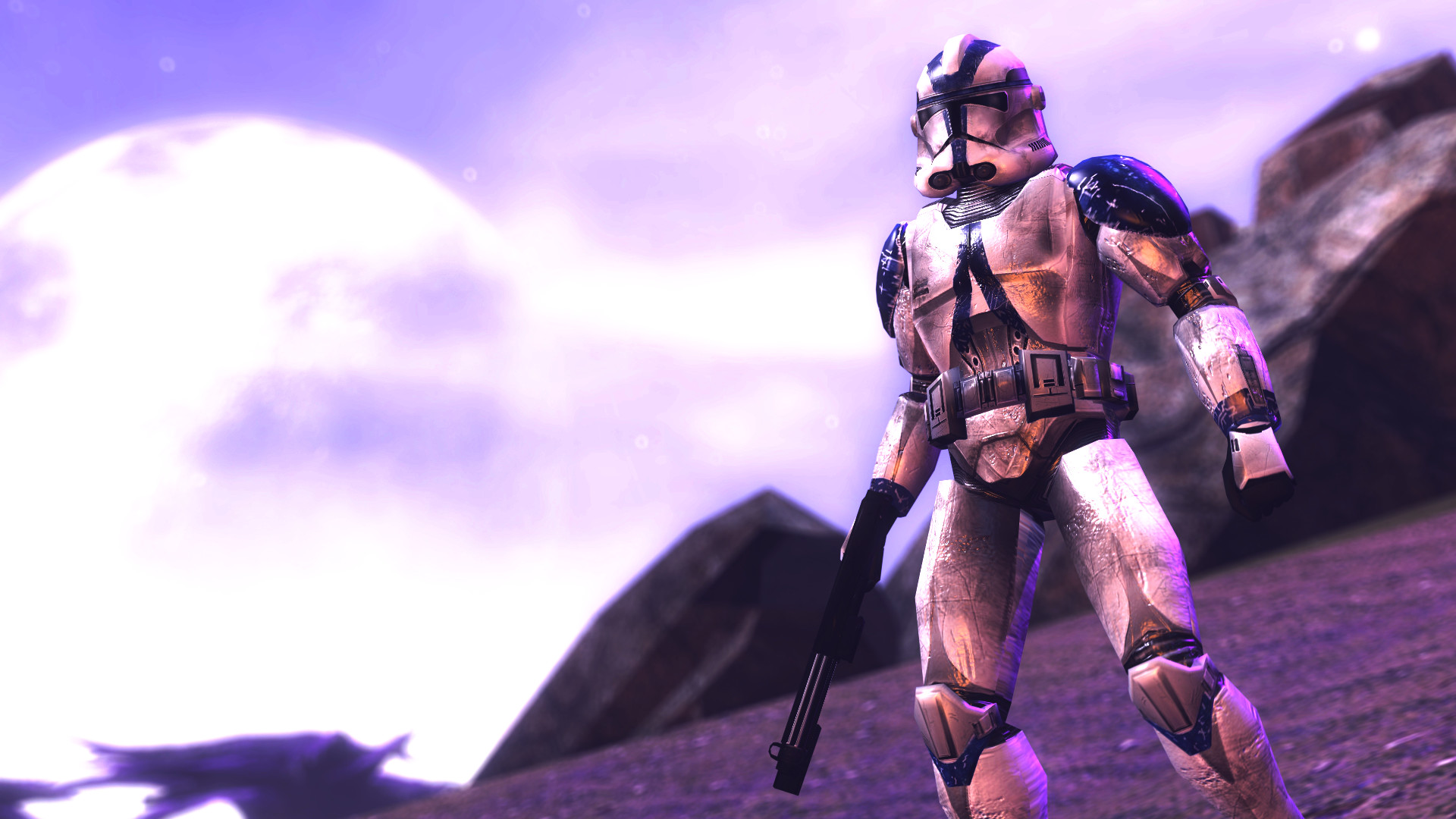… 501st Clone Trooper standing about by Shacobi