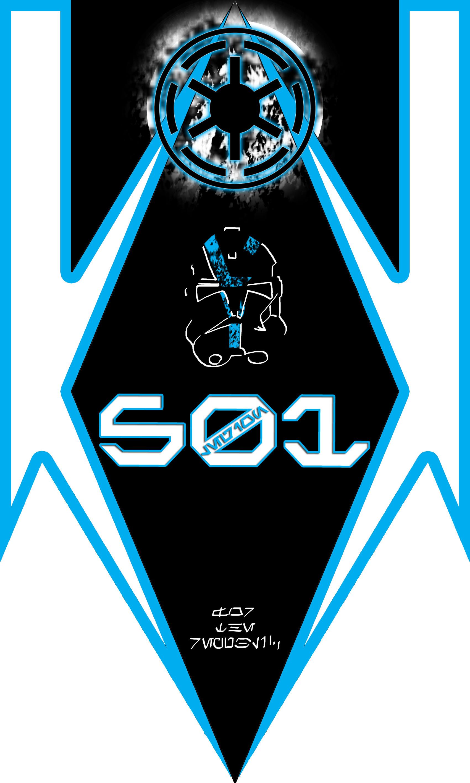 … 501st Legion Late Clone War Standard Design by finalverdict