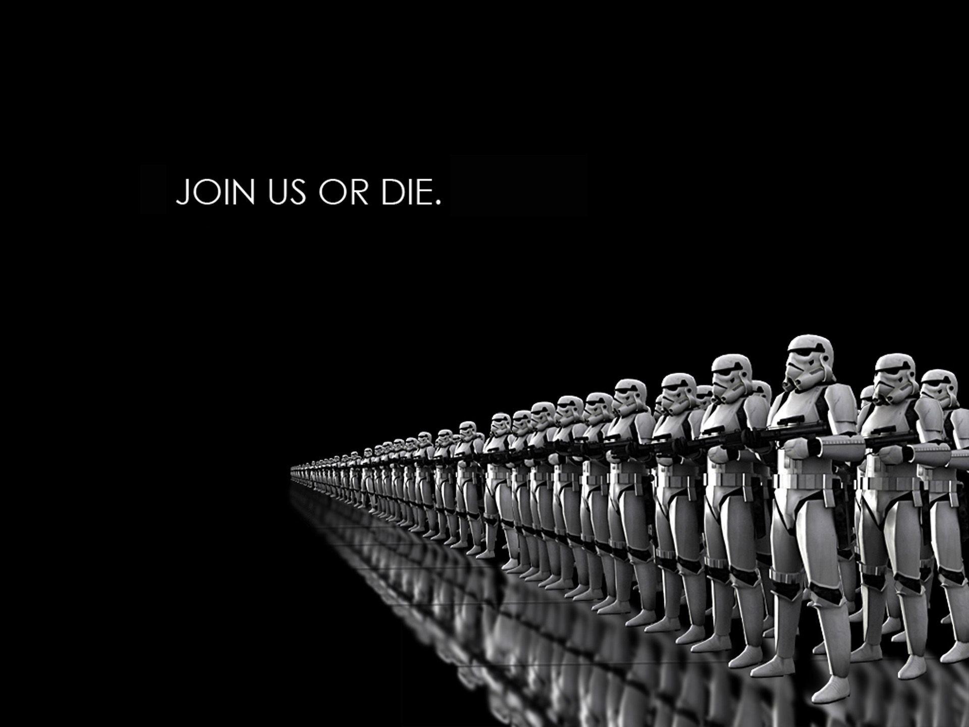Star wars die dark side clone trooper wallpaper