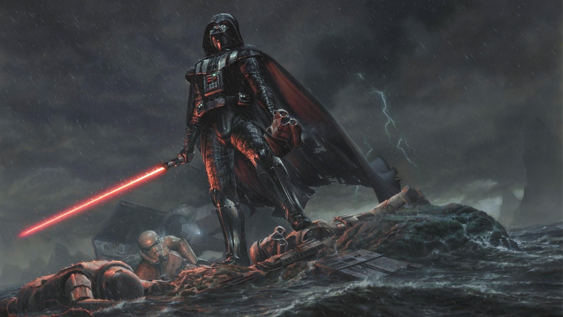 OtherA pretty badass Vader wallpaper I found.