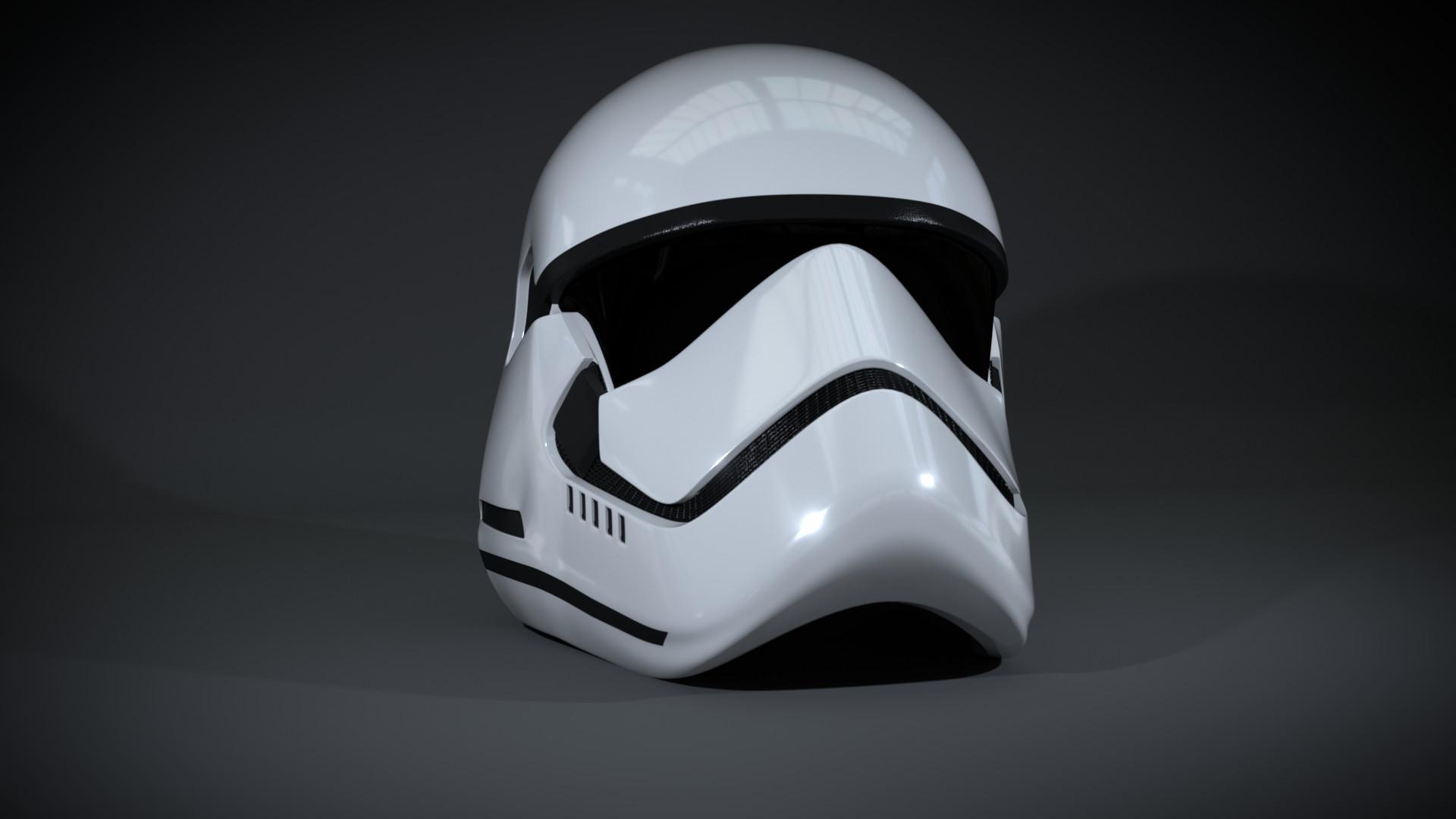 First Order Stormtrooper Helmet …