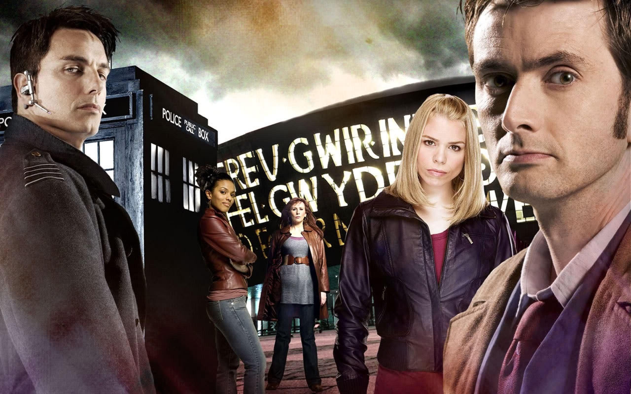 Doctor Who, The Doctor, TARDIS, David Tennant, John Barrowman, Billie  Piper, Tenth Doctor, Rose Tyler, Freema Agyeman Wallpapers HD / Desktop and  Mobile …