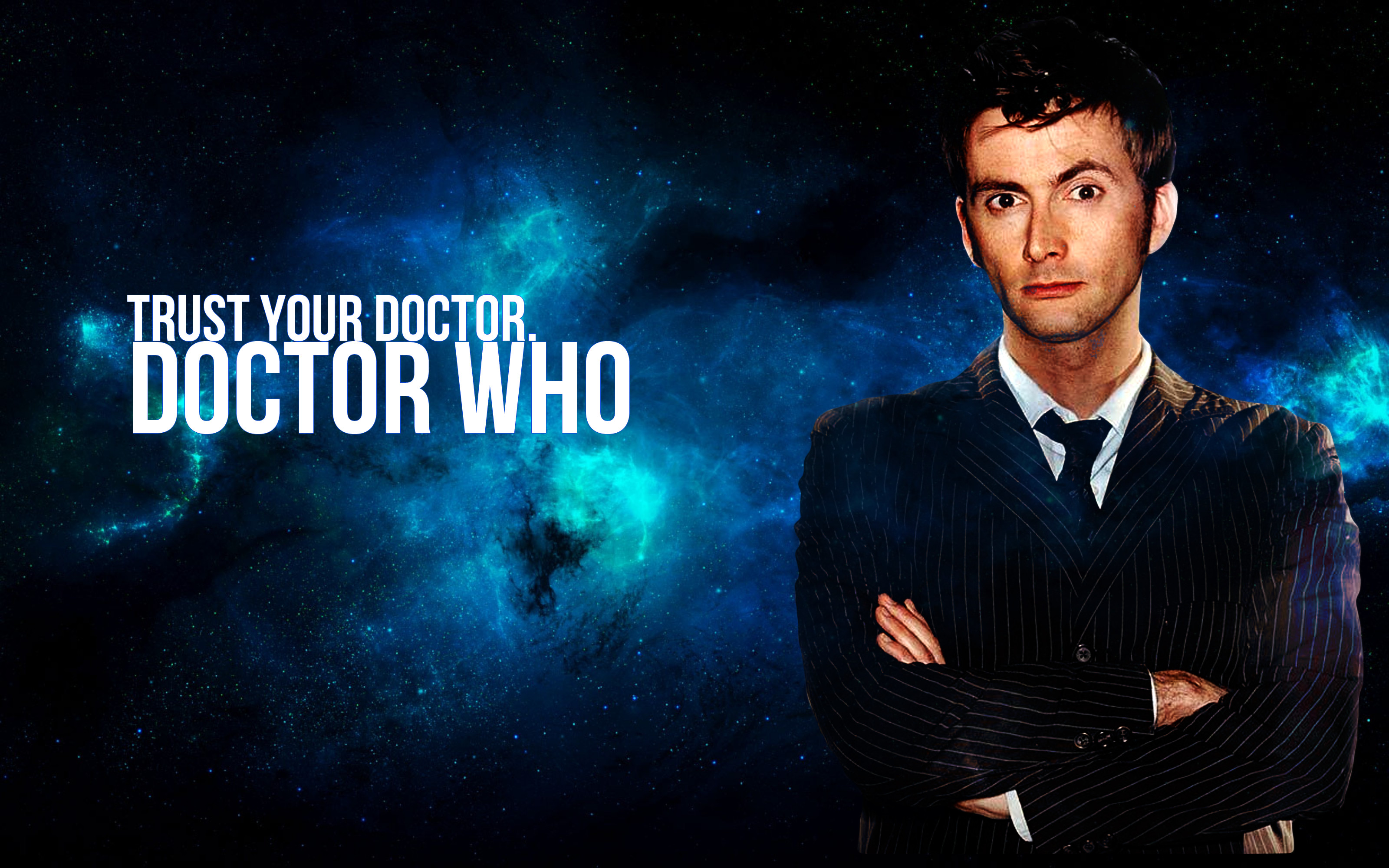 Doctor Who Tenth Wallpaper Art