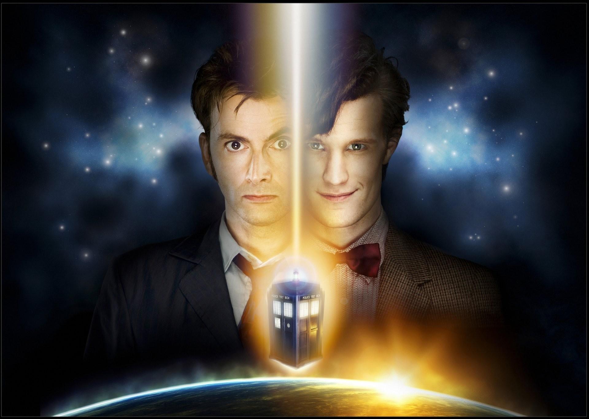 doctor who doctor who david tennant david tennant matt smith matt smith  space star police box