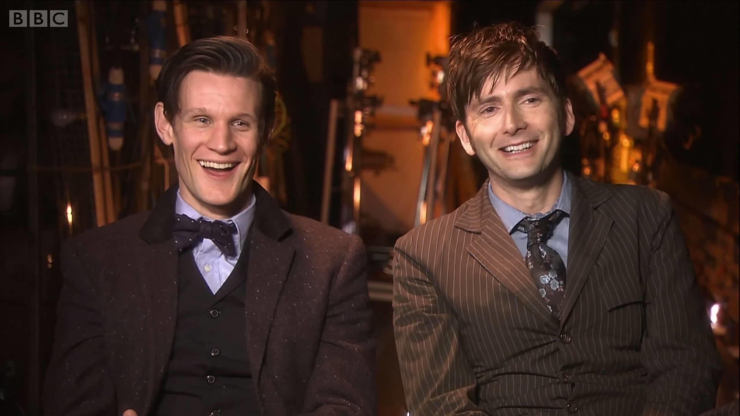 BehindTheScenes_DT_MS_00196 Matt Smith & David Tennant – Doctor Who 50th  Anniversary