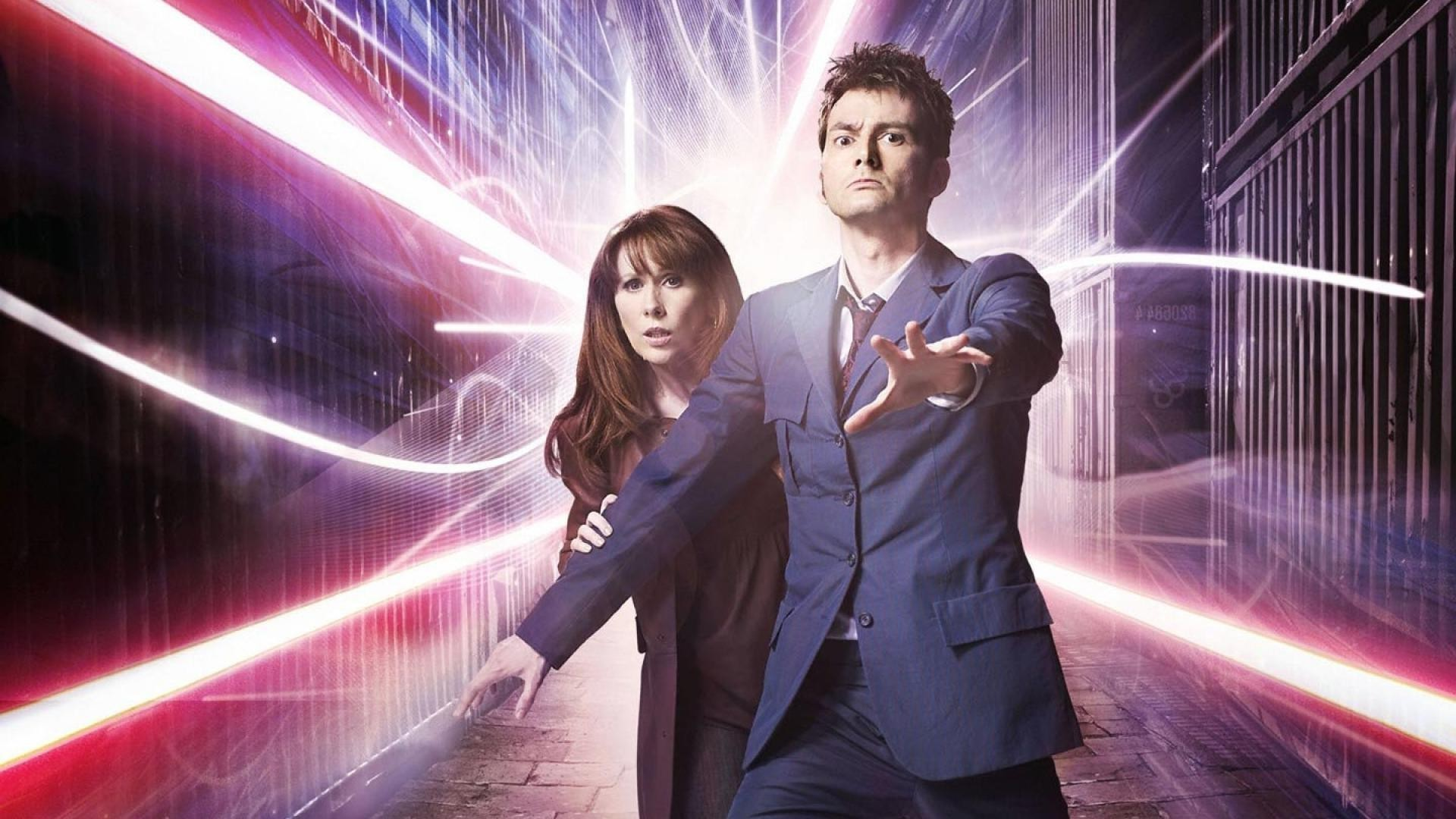 Doctor Who, The Doctor, TARDIS, David Tennant, Tenth Doctor Wallpaper HD