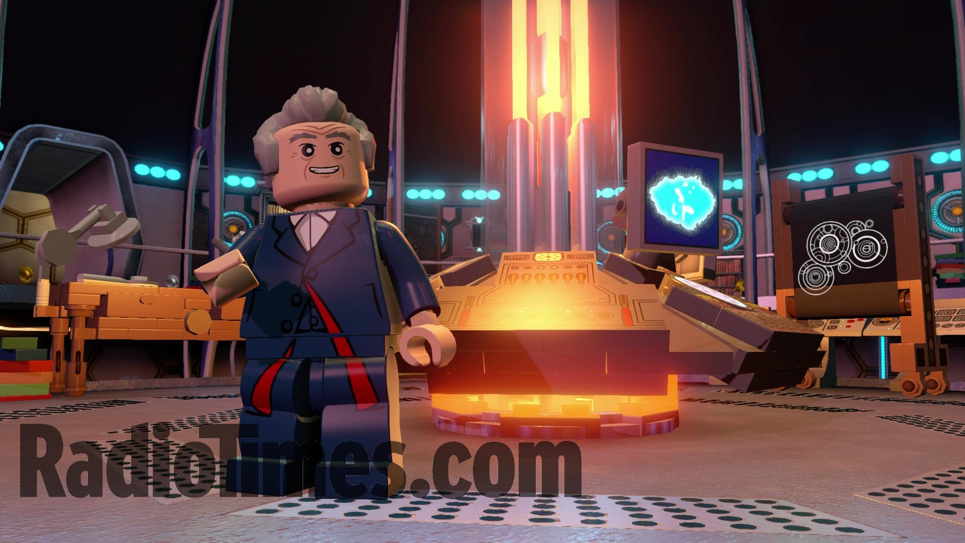 Doctor Who Lego Dimensions pack: see every Tardis interior, from William  Hartnell to David