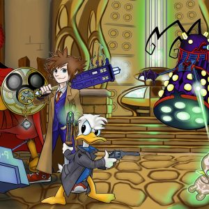 Dr Who Inside Tardis
