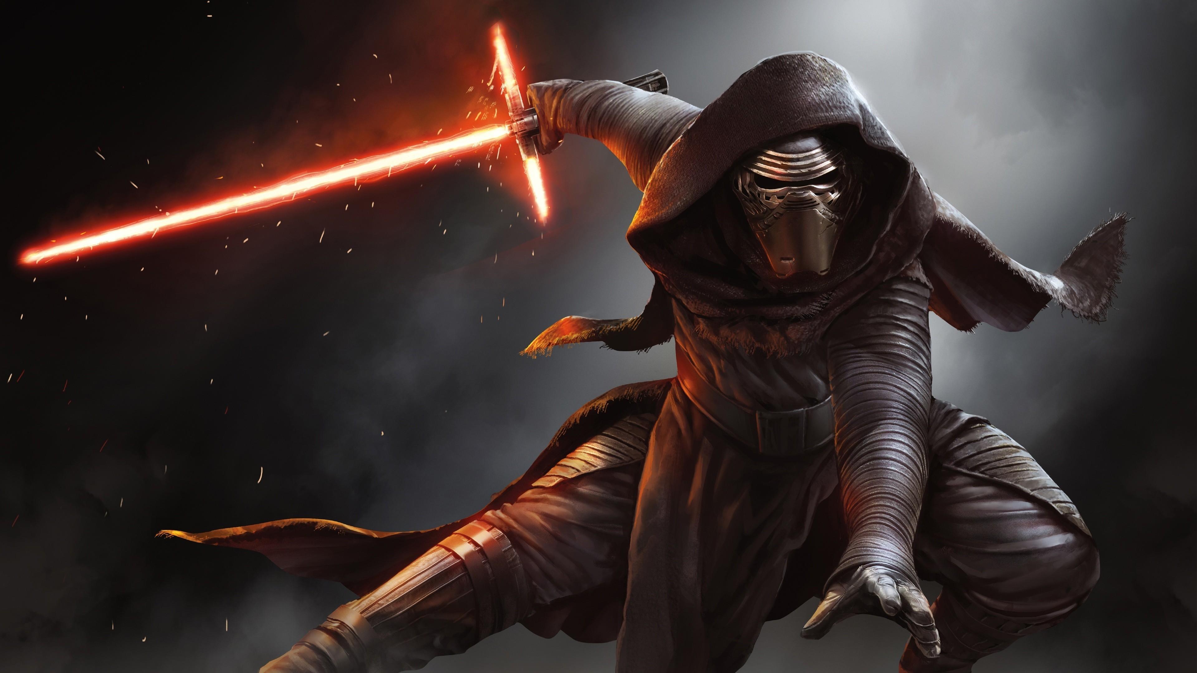 Star Wars Episode VII: The Force Awakens, Kylo Ren movie poster