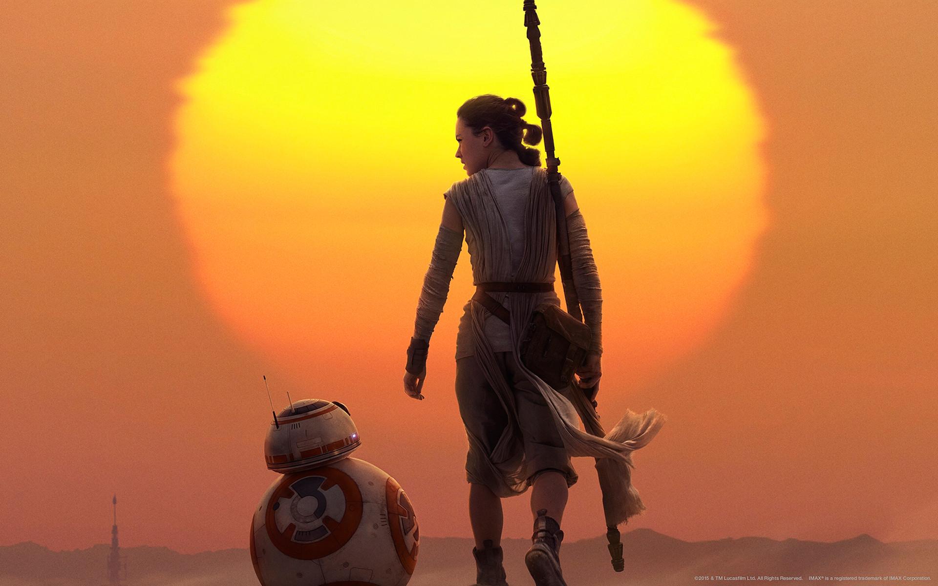 Movie – Star Wars Episode VII: The Force Awakens Rey (Star Wars) BB