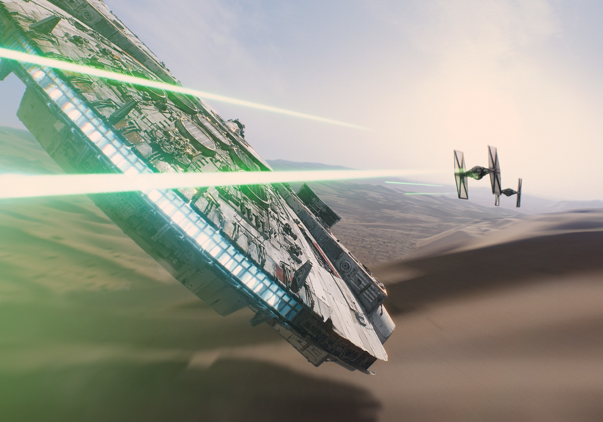 Star Wars, Star Wars: Episode VII The Force Awakens, Millennium Falcon Wallpapers  HD / Desktop and Mobile Backgrounds