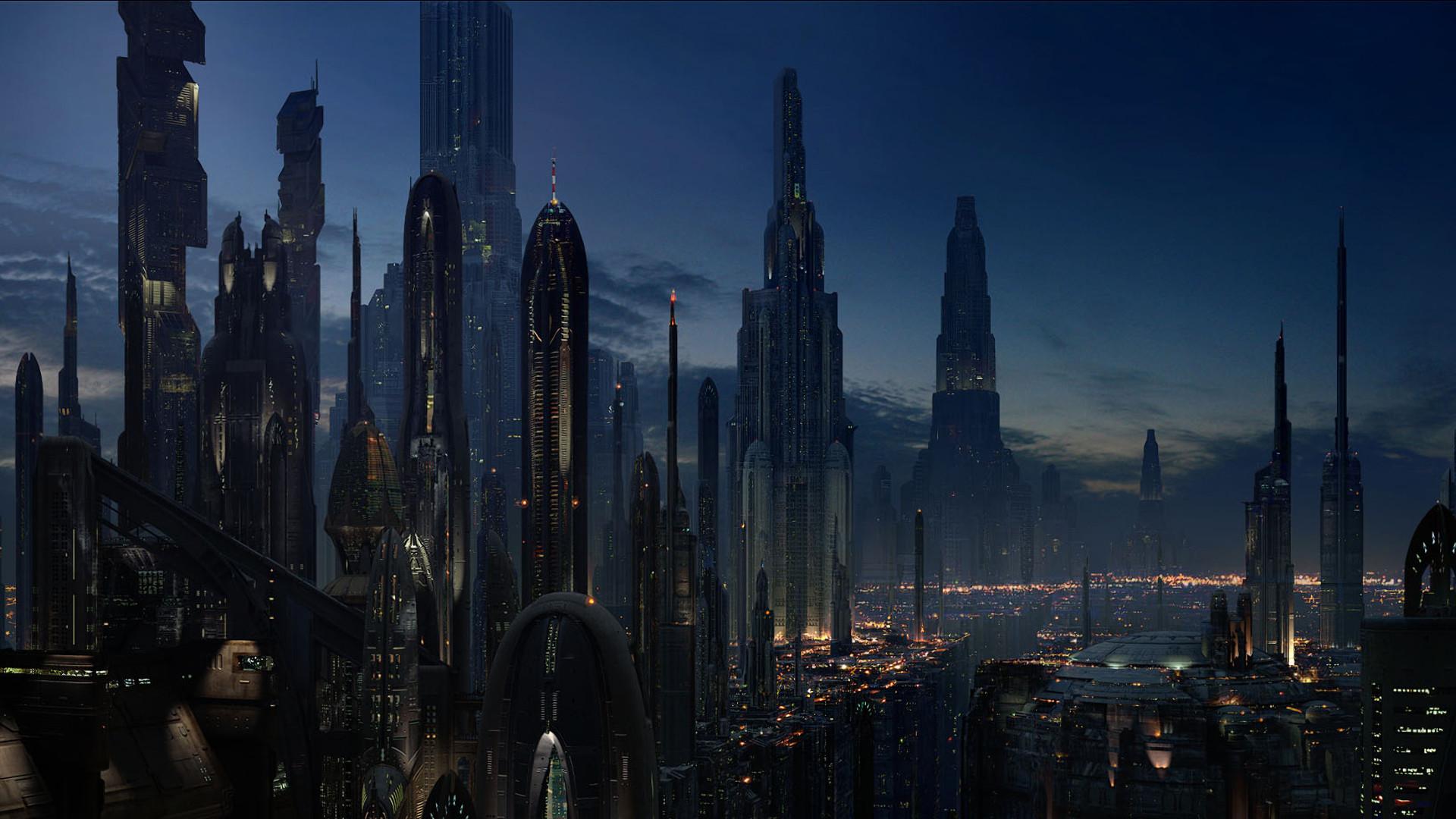 Futuristic City Wallpaper 29