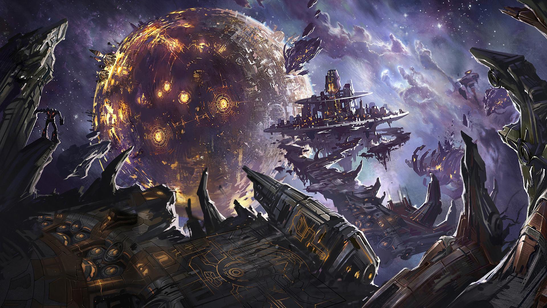 Sci Fi Spaceship Wallpaper #493029 – Resolution px
