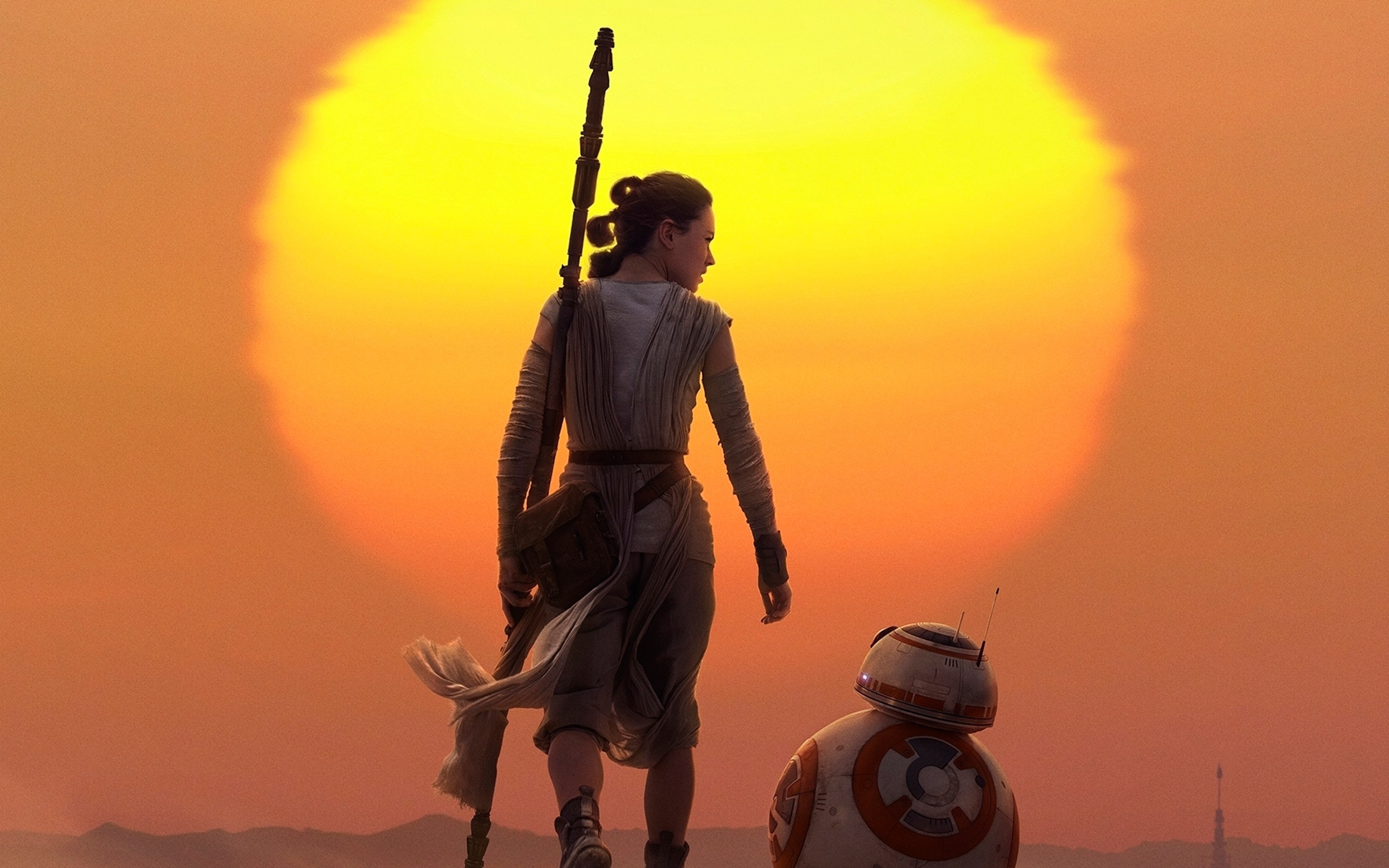Rey BB8 Star Wars | Movies HD 4k Wallpapers