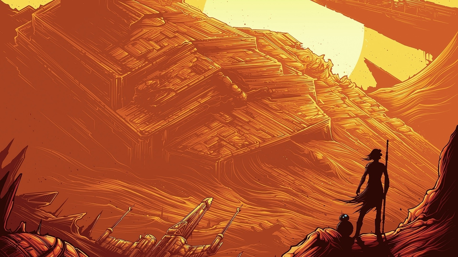 Star Wars, Star Wars: Episode VII The Force Awakens, BB 8, Star