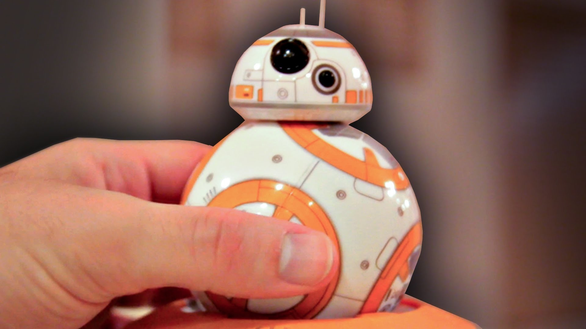 Hands-on with BB-8 Ball Droid Toy by Sphero! Star Wars Episode 7: The Force  Awakens Toy Collection – YouTube