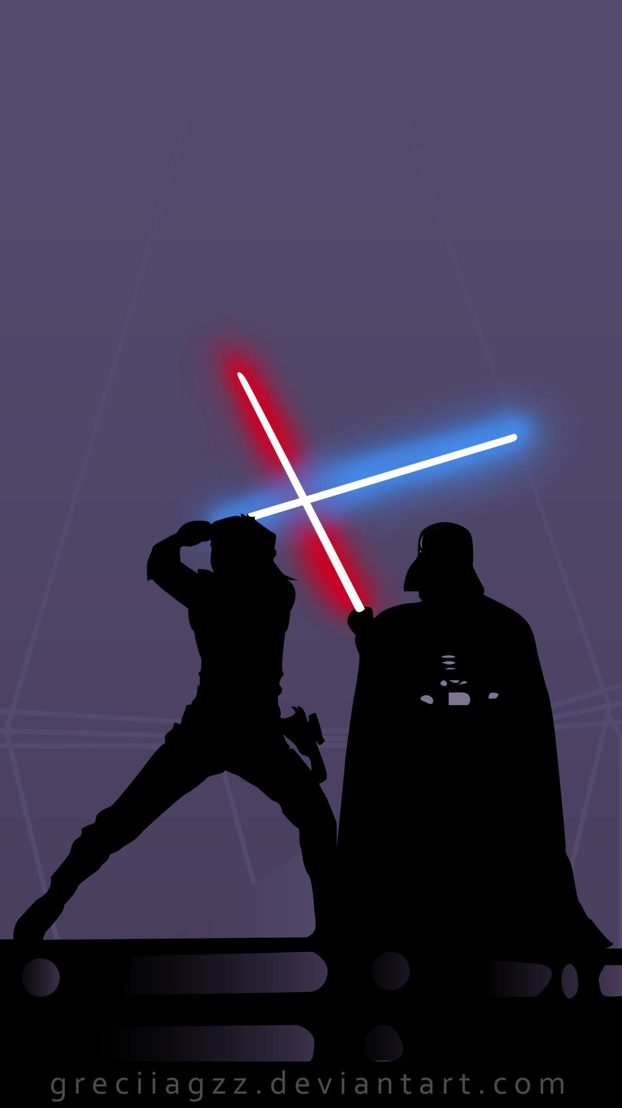 … iPhone Background : Star Wars by greciiagzz