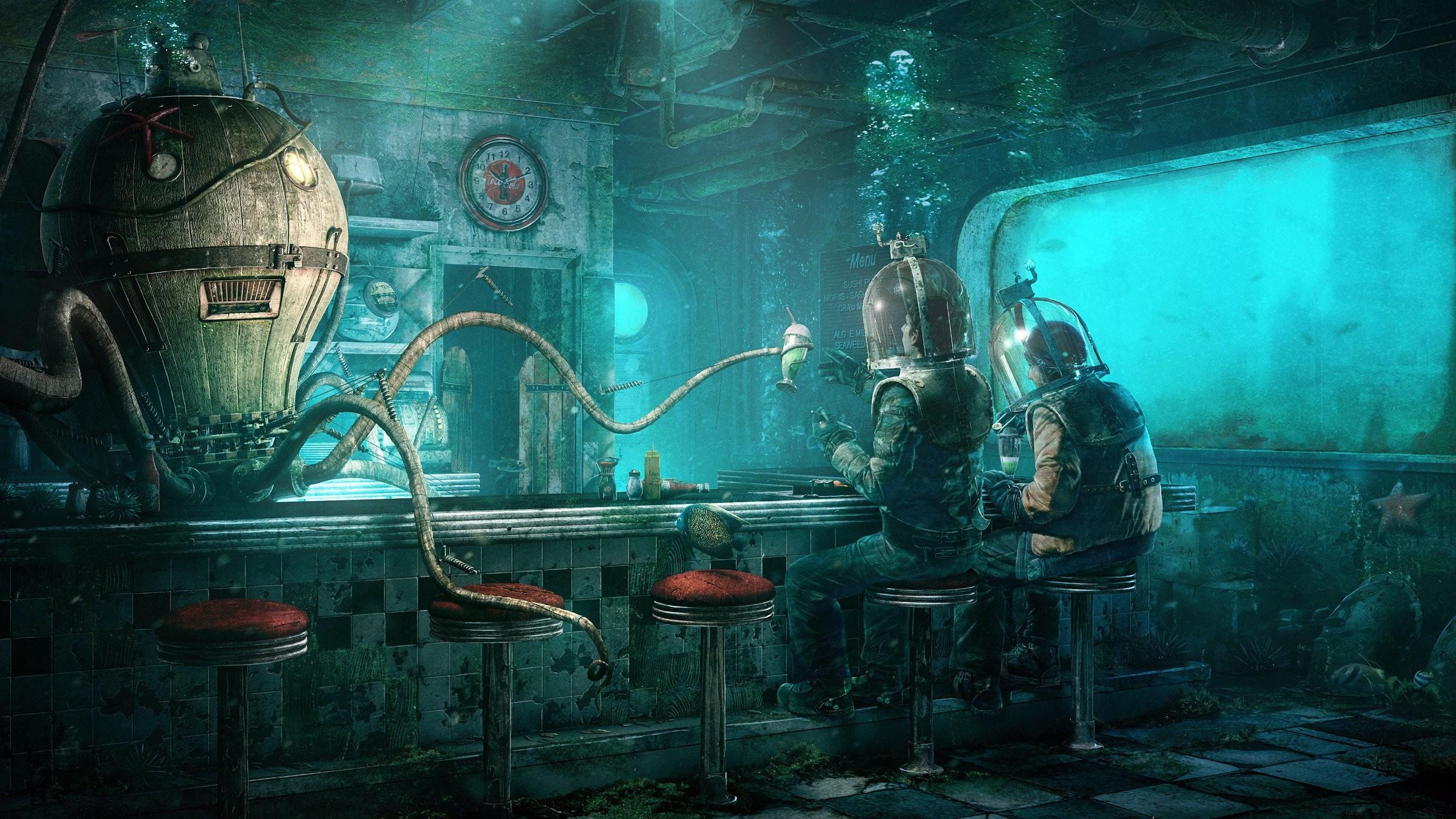 Sci-Fi Restaurant