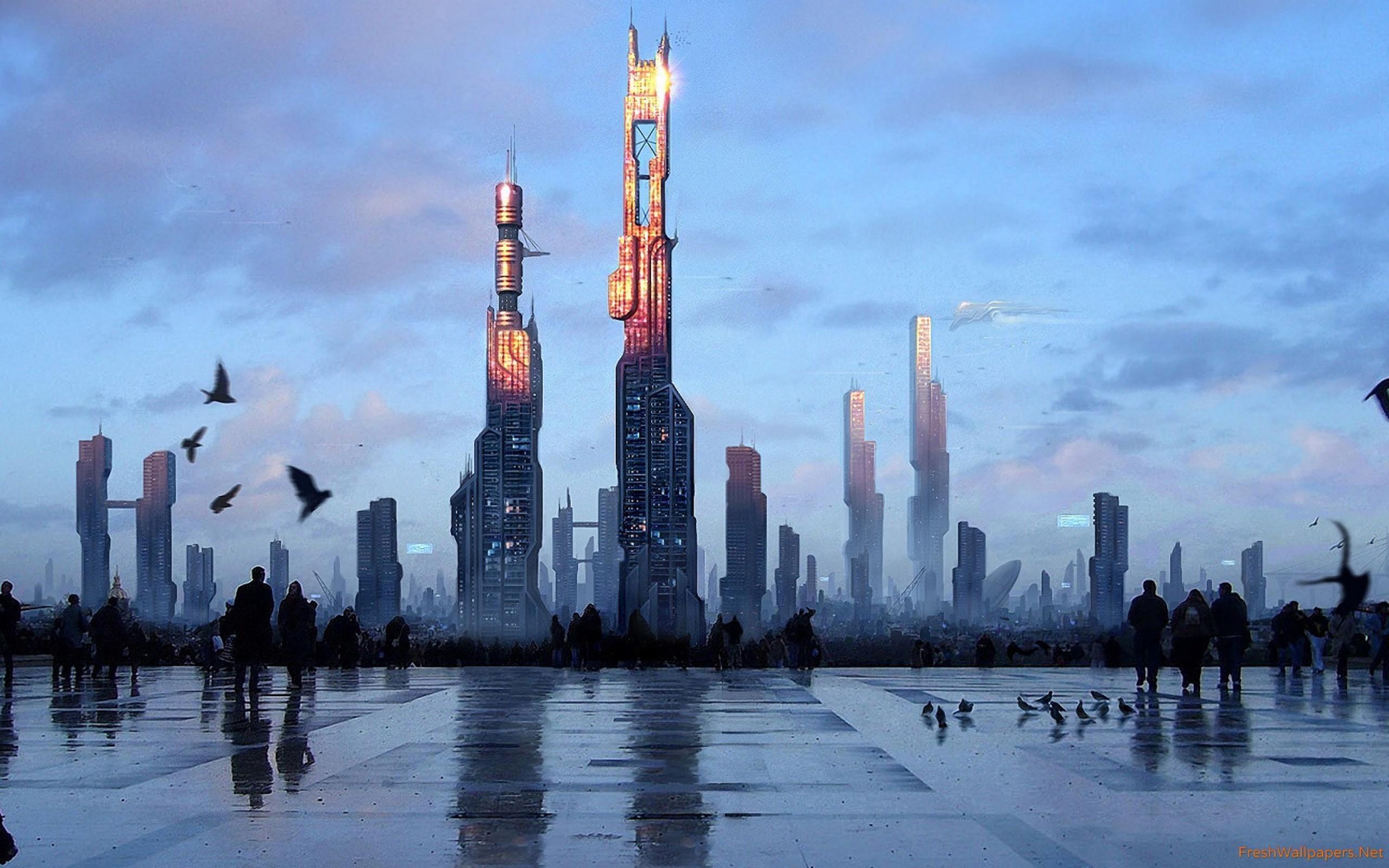 Explore Sci Fi City, City Wallpaper, and more!