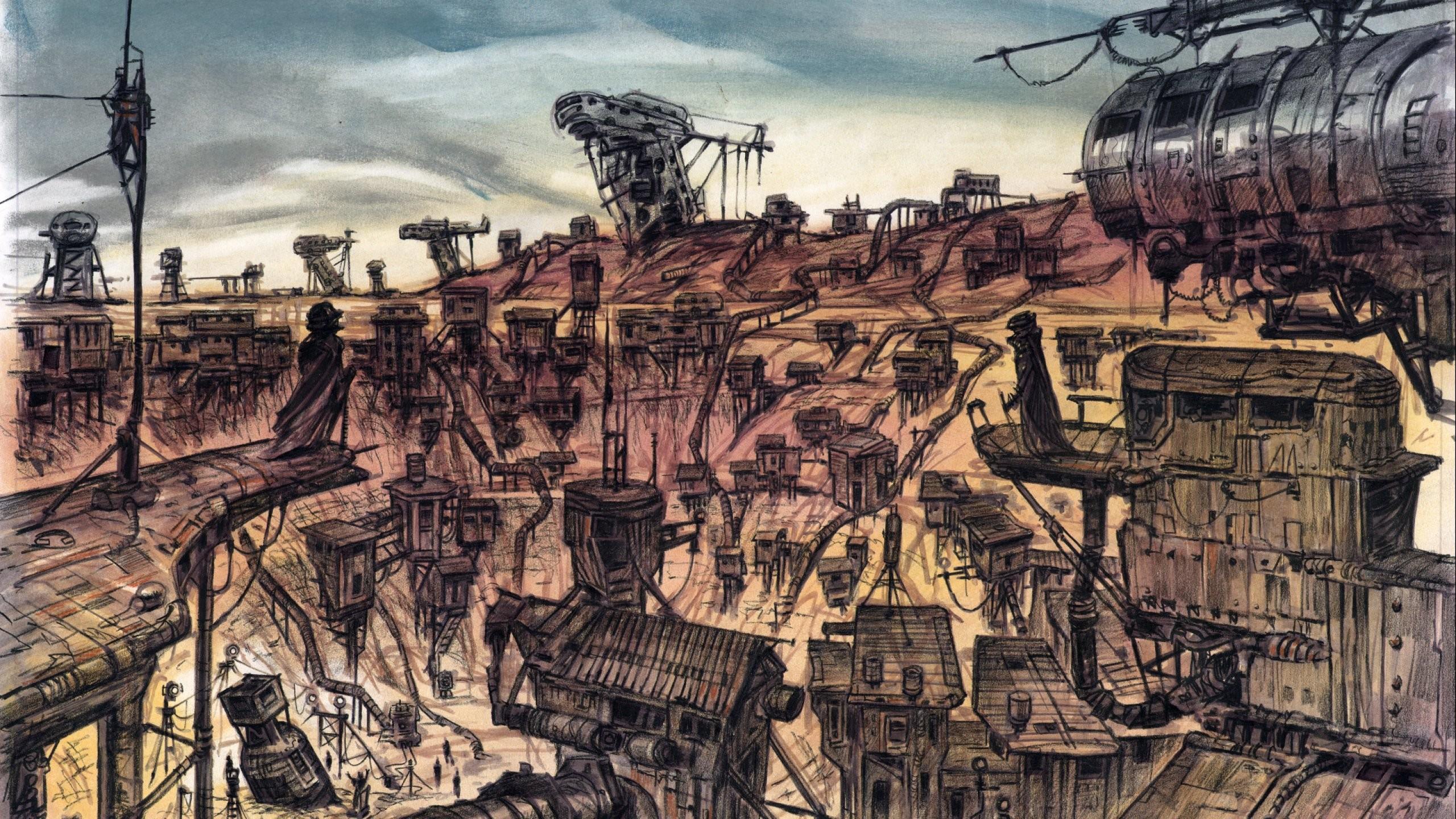Sci-fi fantasy art artwork science fiction futuristic original adventure  fantasy wallpaper     698408   WallpaperUP