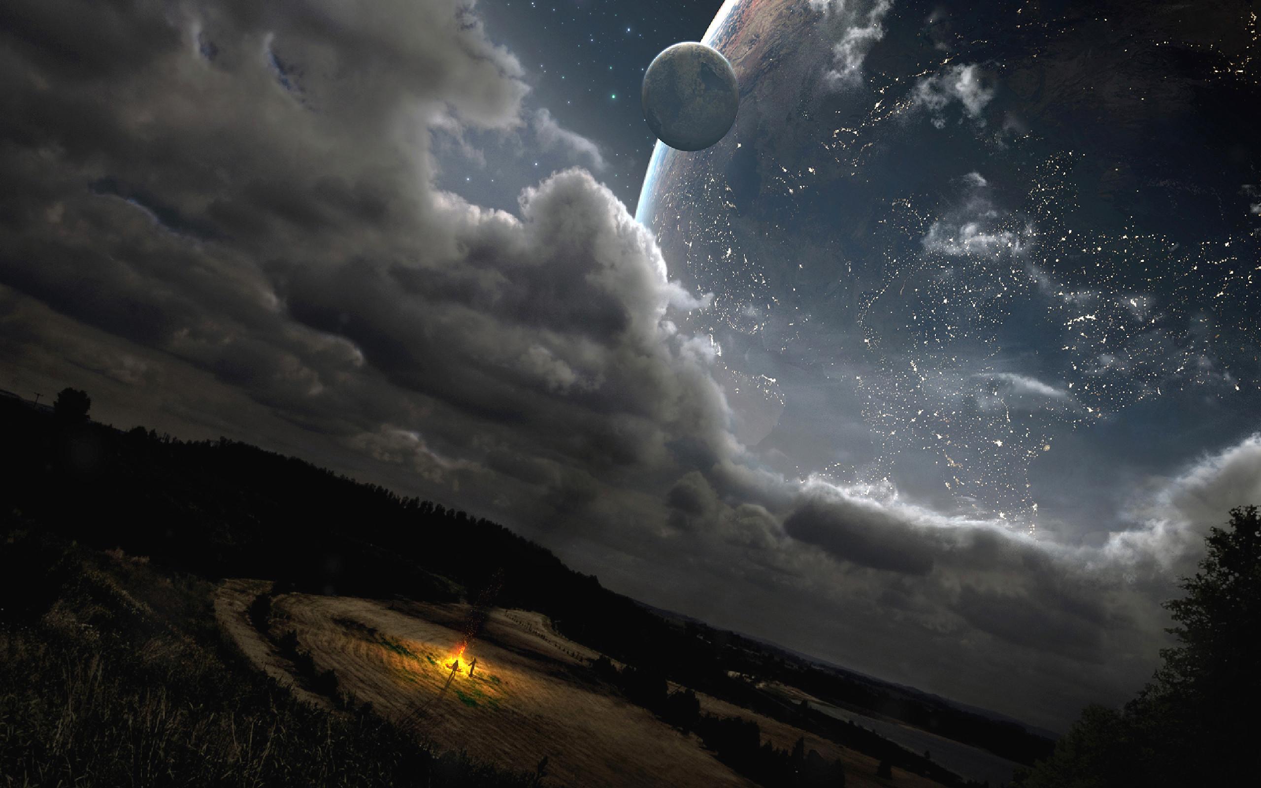 Moon Sci Fi · HD Wallpaper   Background ID:132007