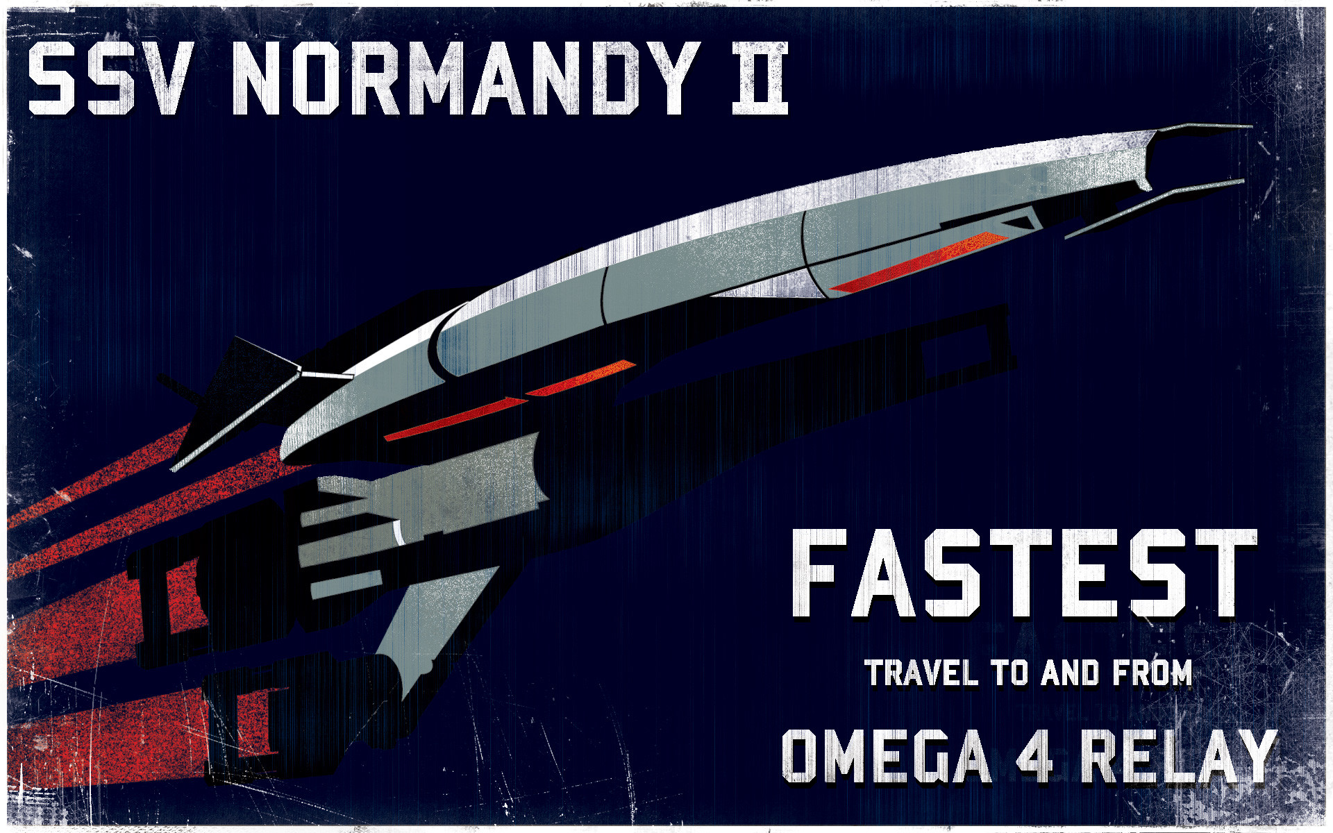 Sci Fi – Spaceship Mass Effect Wallpaper
