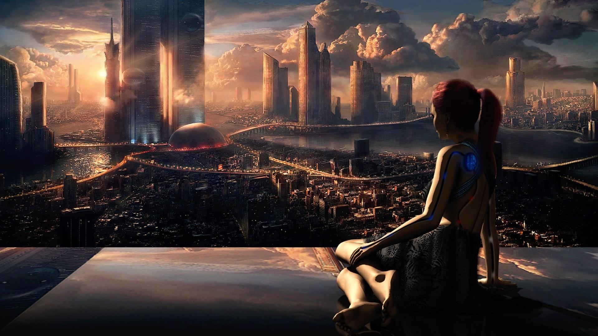 HD Wallpaper   Background ID:442794. Sci Fi City