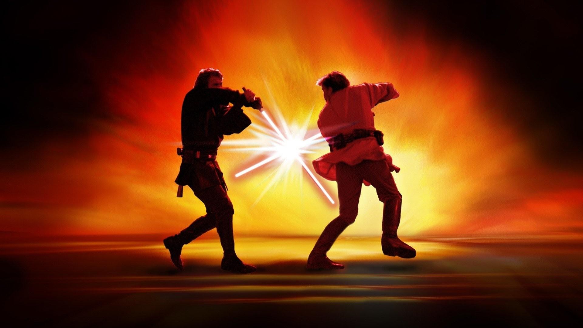 Movies Star Wars Anakin Skywalker Obi-Wan Kenobi …