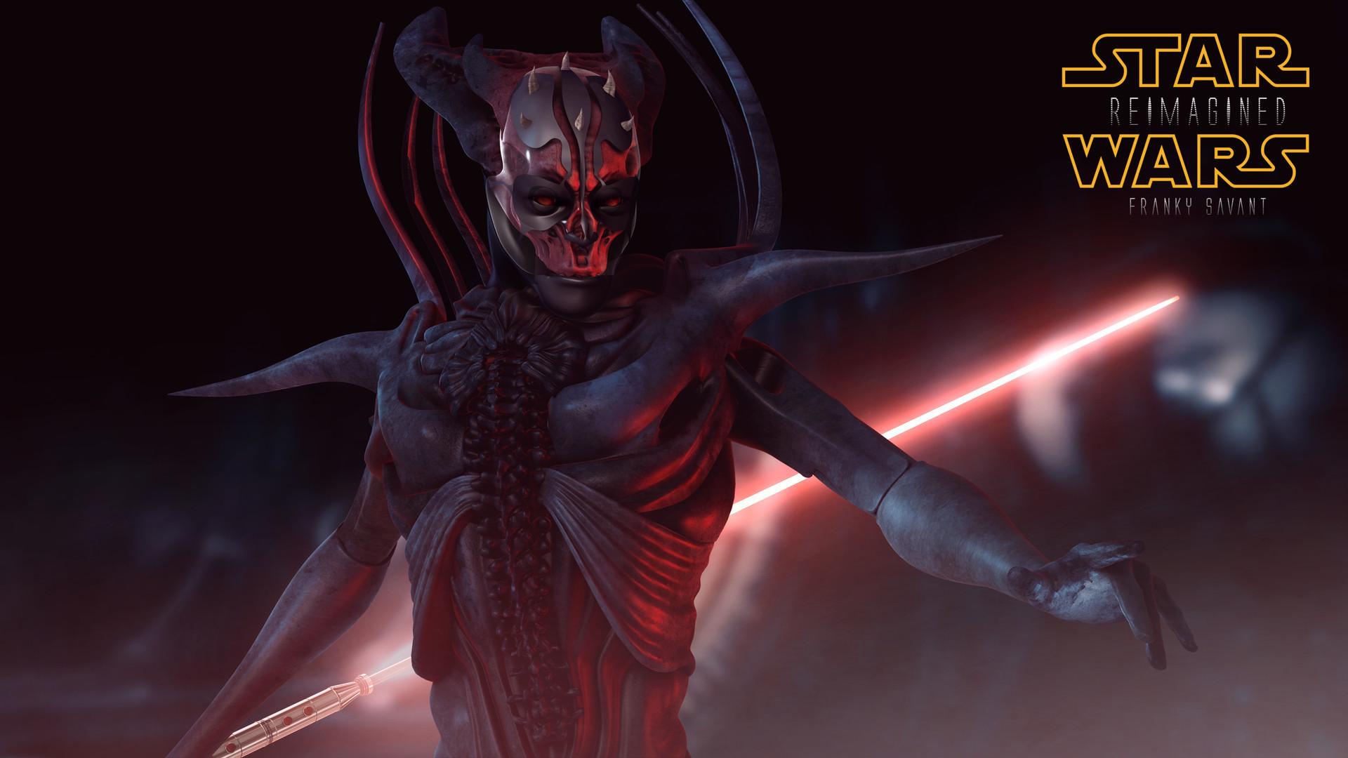Thread: Star Wars Reimagined Darth Maul H.R. Style