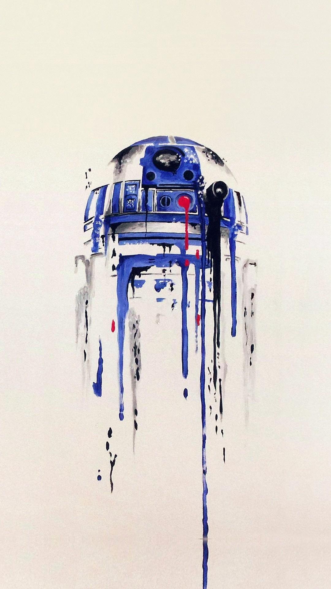 Minimal Painting Starwars Art Illustration. Great iPhone 6 plus wallpaper.