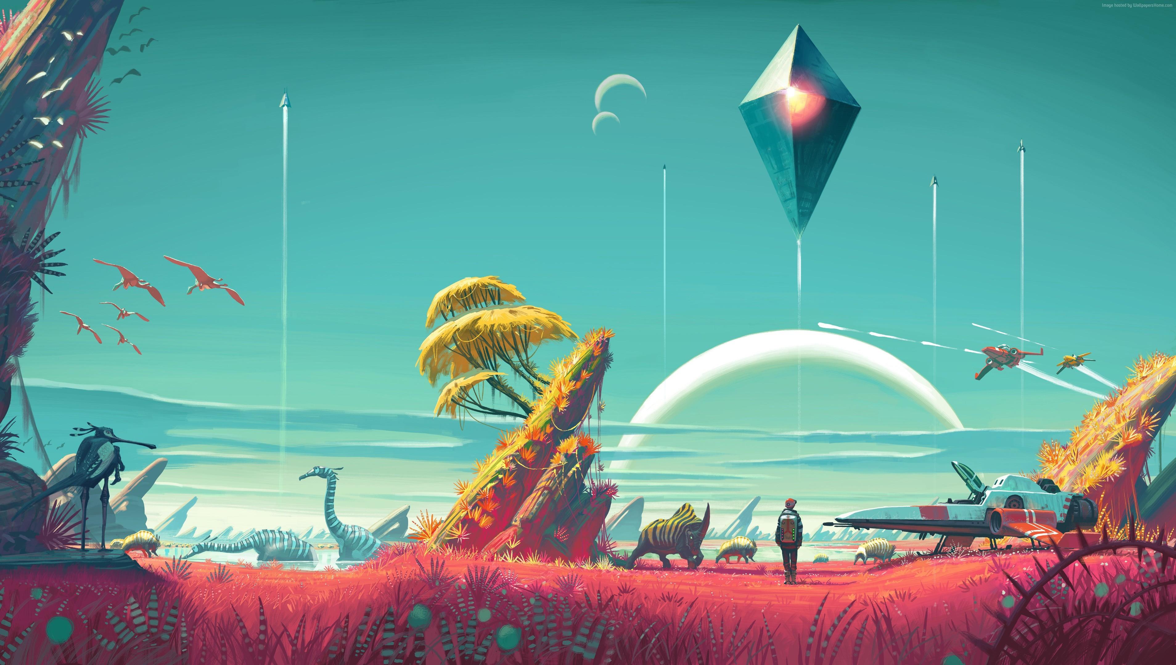 No Man's Sky, 4k, 5k wallpaper, Best Games 2015, game, sci …