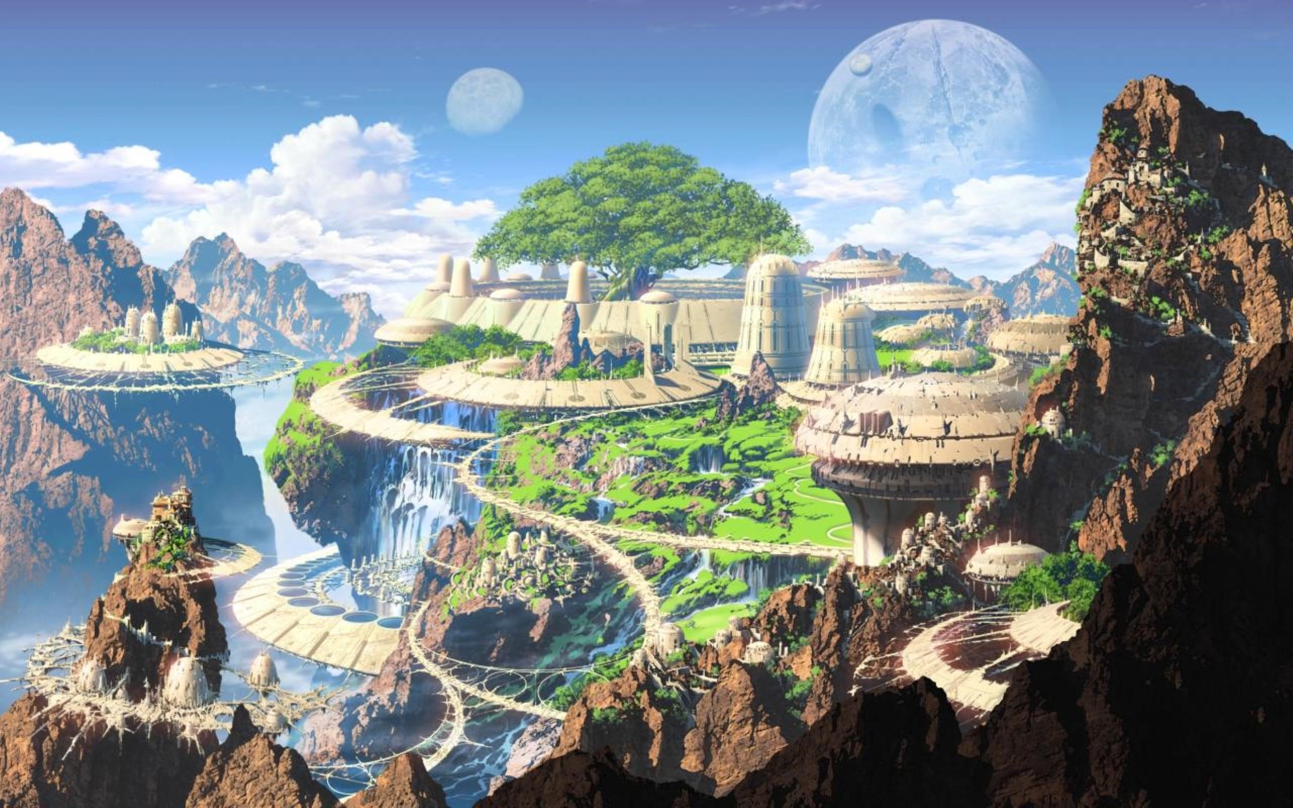 Realm Of Fantasy World Digital Art