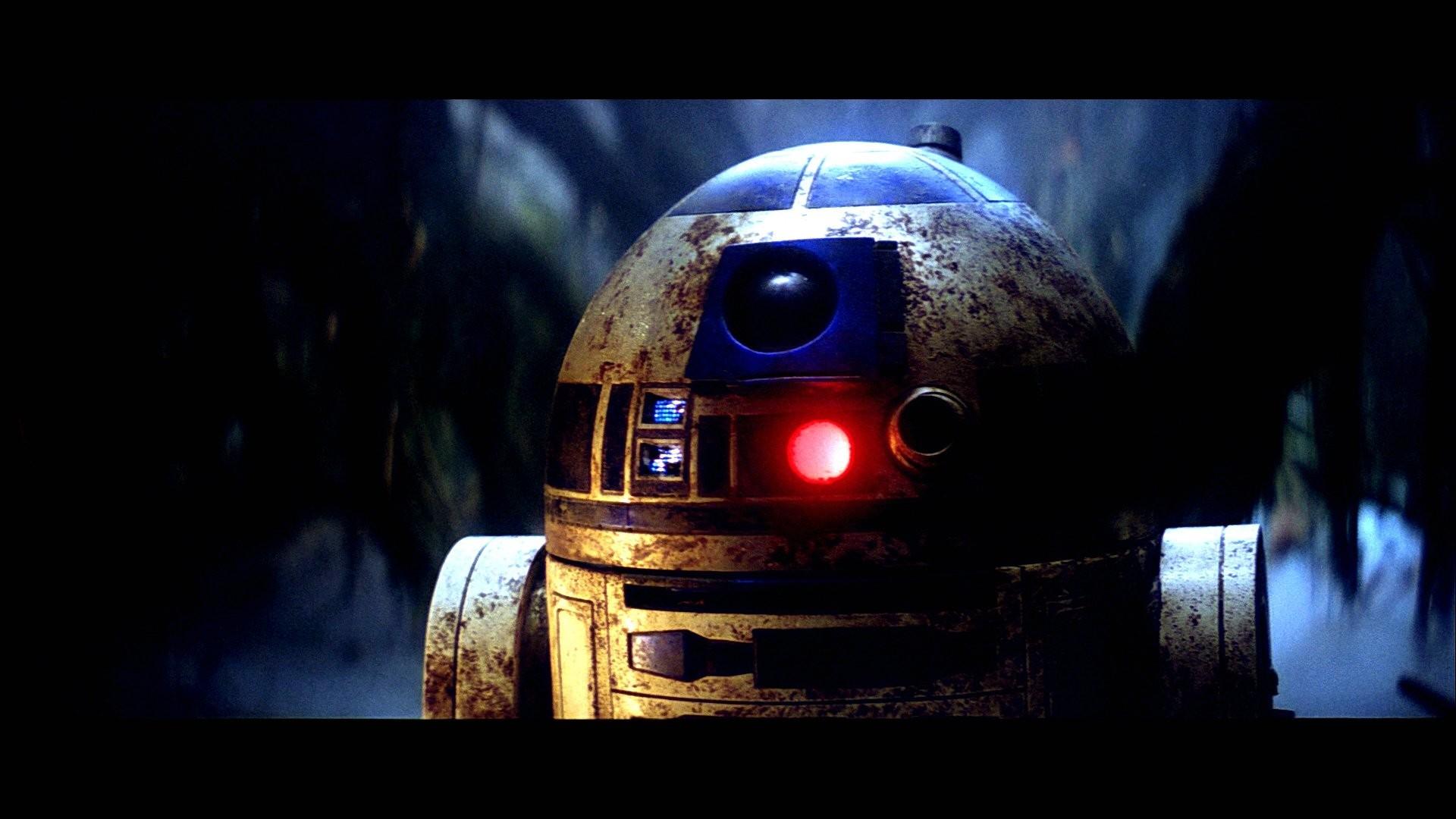 HD R2-D2 – Dagobah Swamp – Return of the Jedi