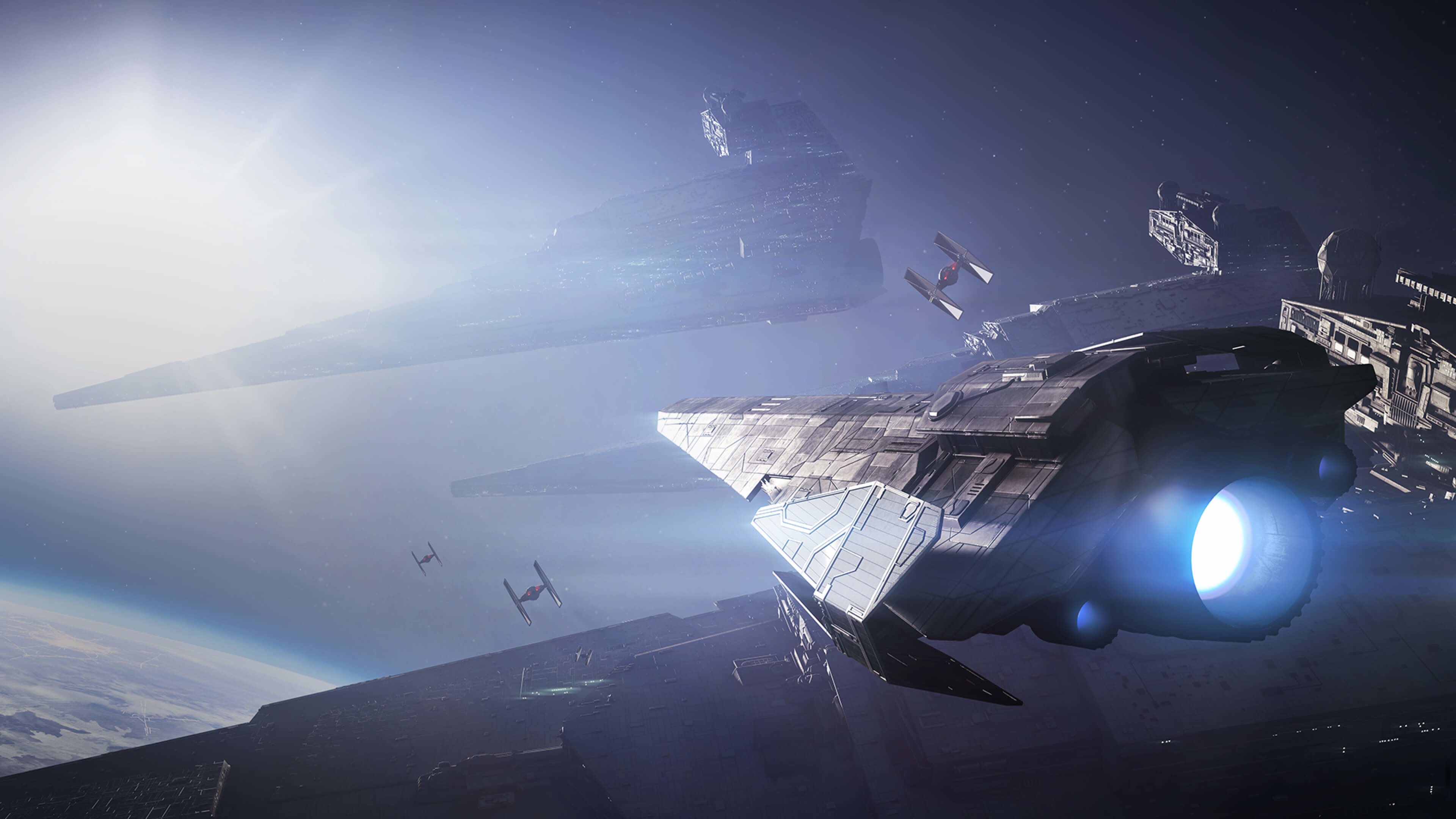 … Last Jedi Wallpaper 'Rey and Kylo'